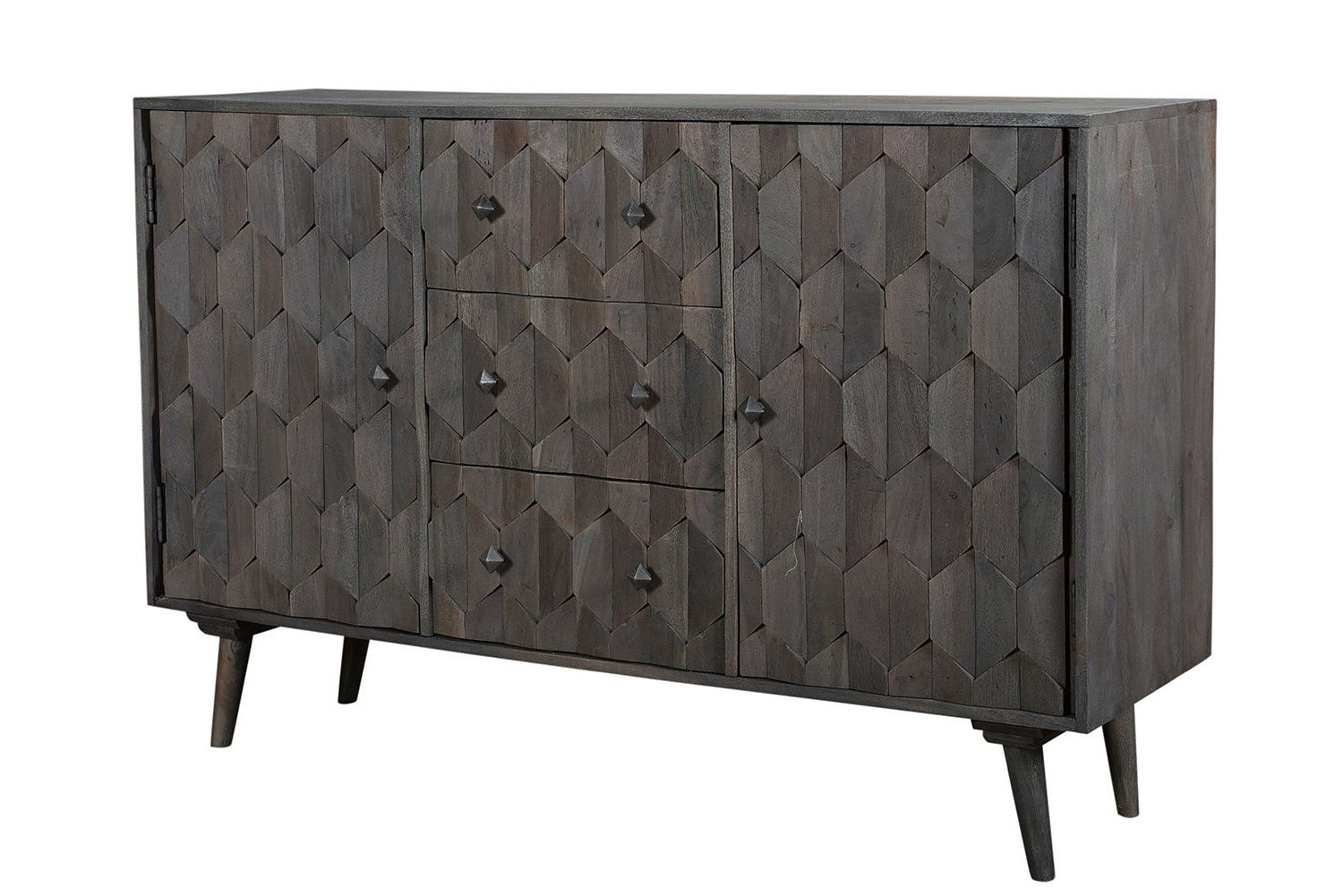 Best And Newest Dussault 3 Drawer Sideboard Intended For Drummond 4 Drawer Sideboards (View 3 of 20)