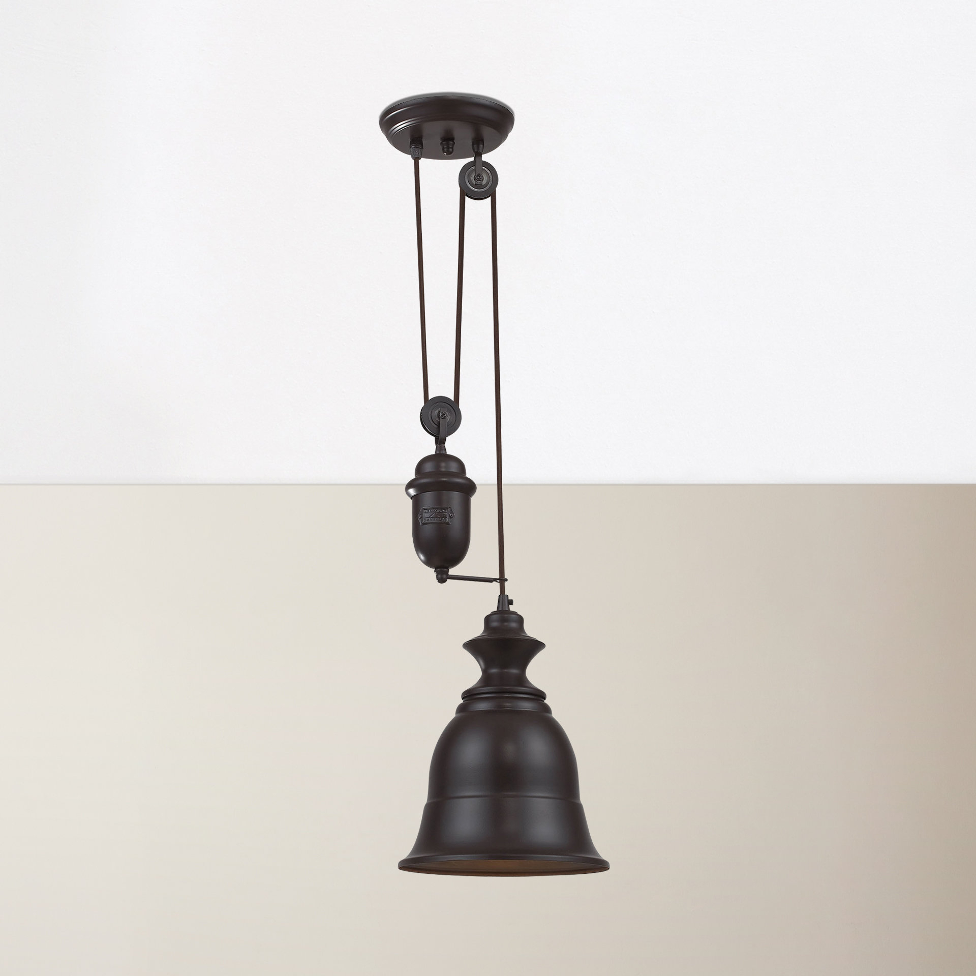 Best And Newest Farmhouse & Rustic Antique Nickel Pendants (View 17 of 20)
