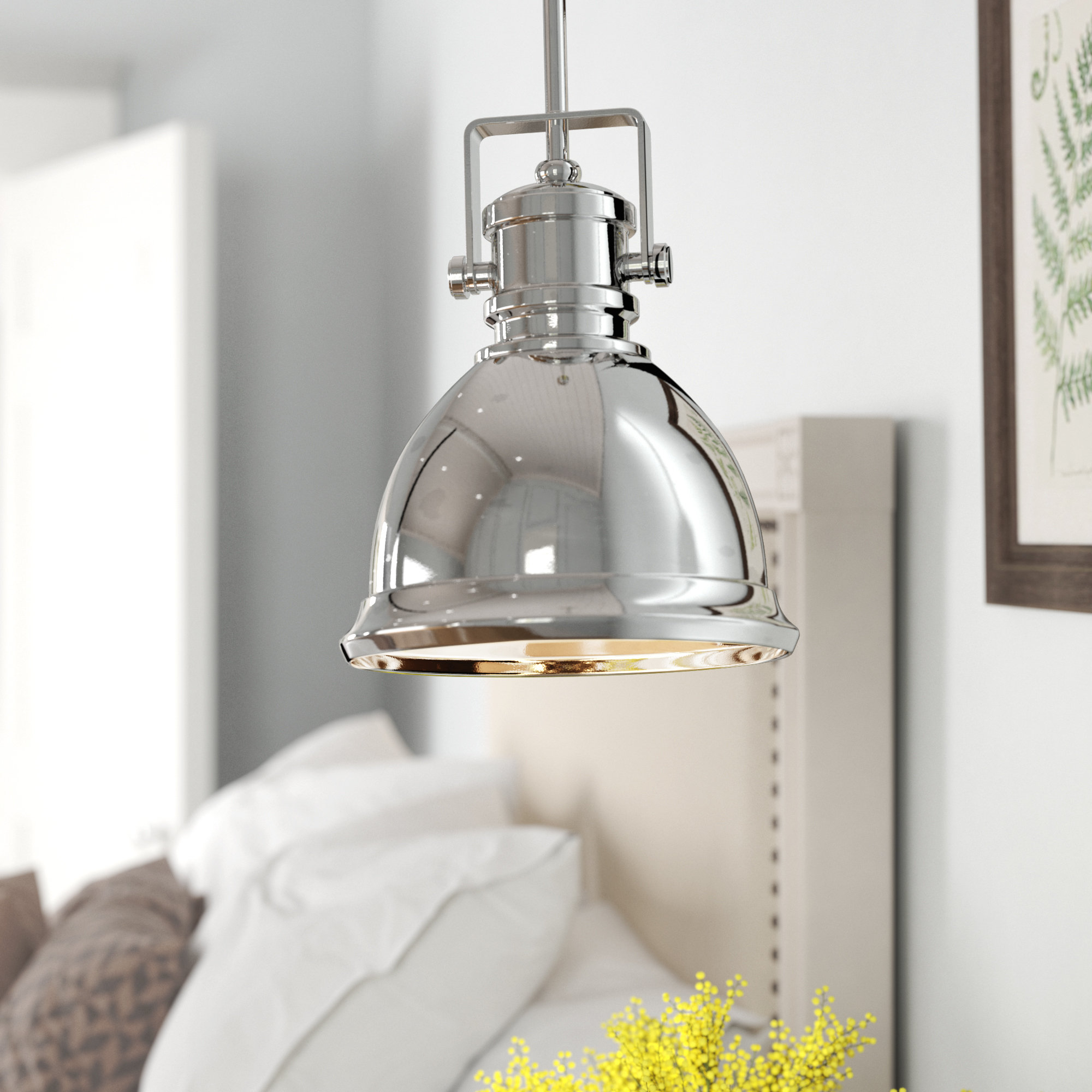 Best And Newest Finlayson Iron Gate 1 Light Single Bell Pendants With Rhodes 1 Light Cone Pendant (View 2 of 20)