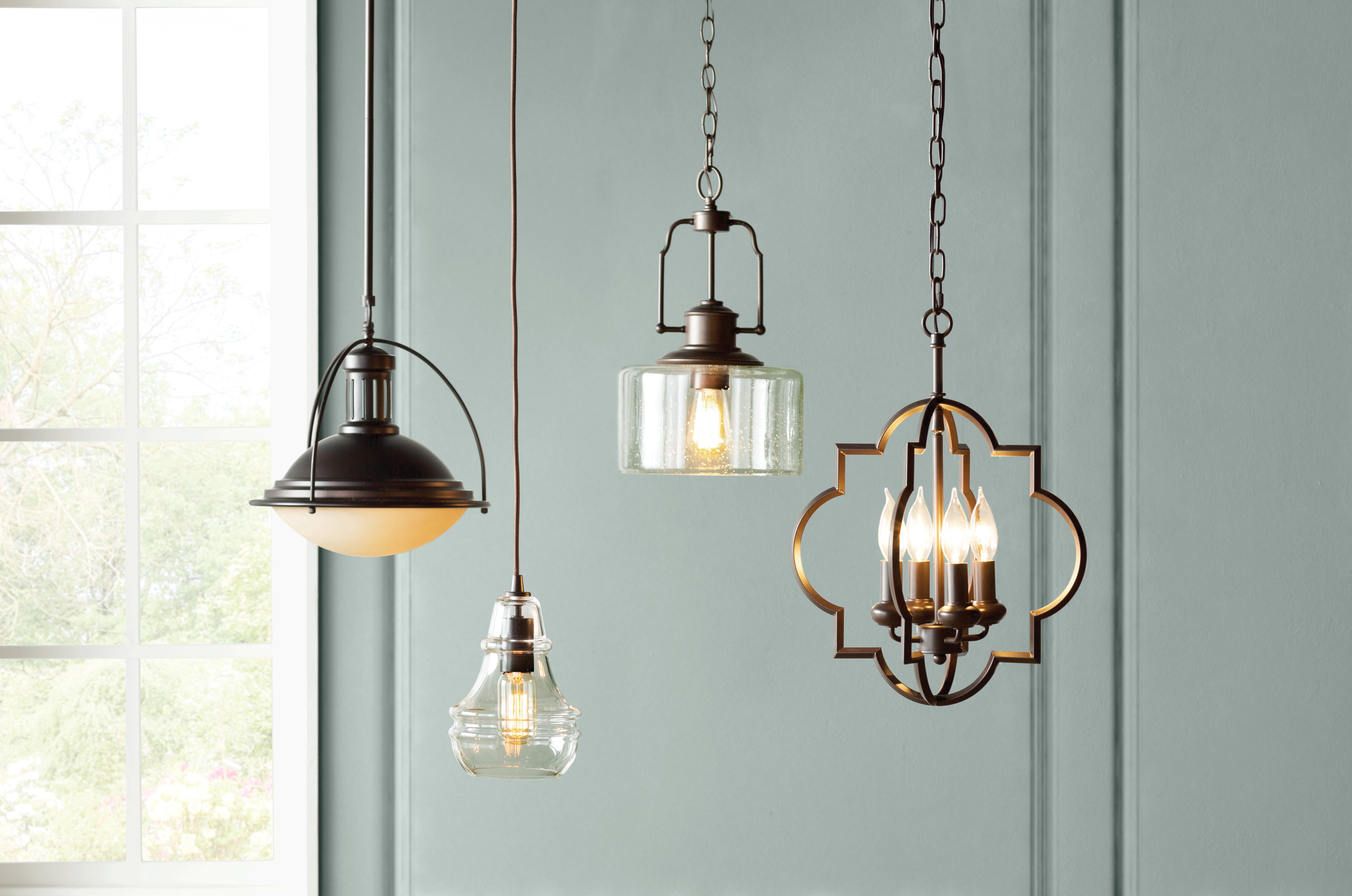 Best And Newest Hartley 4 Light Geometric Pendant Intended For Hendry 4 Light Globe Chandeliers (Gallery 15 of 20)