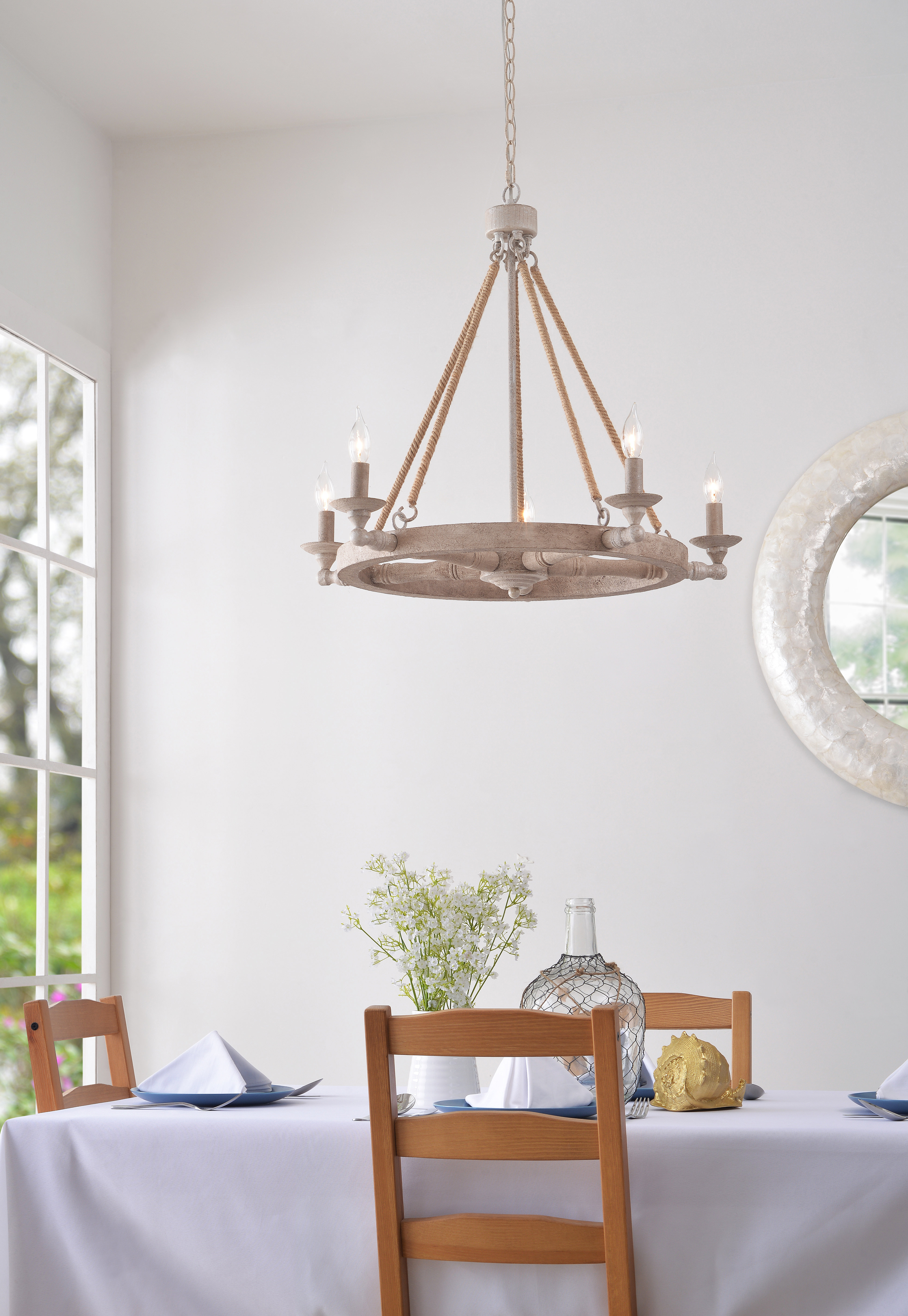 Best And Newest Kalyn 5 Light Wagon Wheel Chandelier Within Janette 5 Light Wagon Wheel Chandeliers (Gallery 12 of 20)