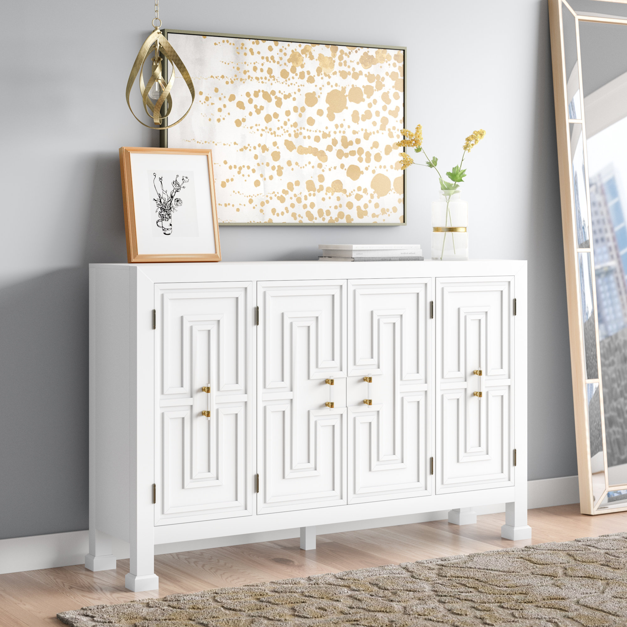Best And Newest Lainey Credenza Regarding Elyza Credenzas (View 6 of 20)