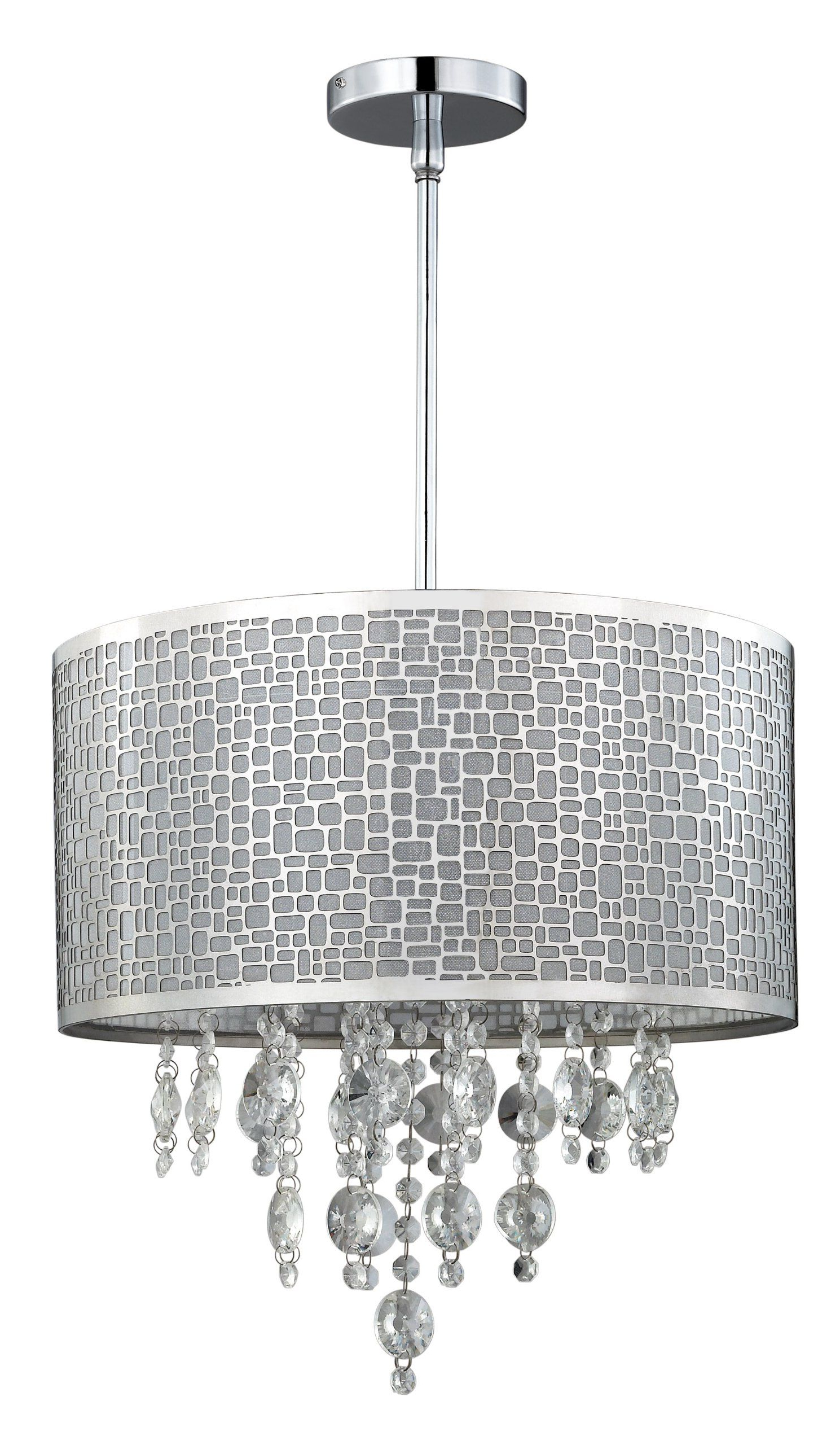 Best And Newest Lindsey 4 Light Drum Chandeliers Inside Amazon: Canarm Ich394A04Ch9 Benito 4 Lt Chandelier: Home (Gallery 15 of 20)