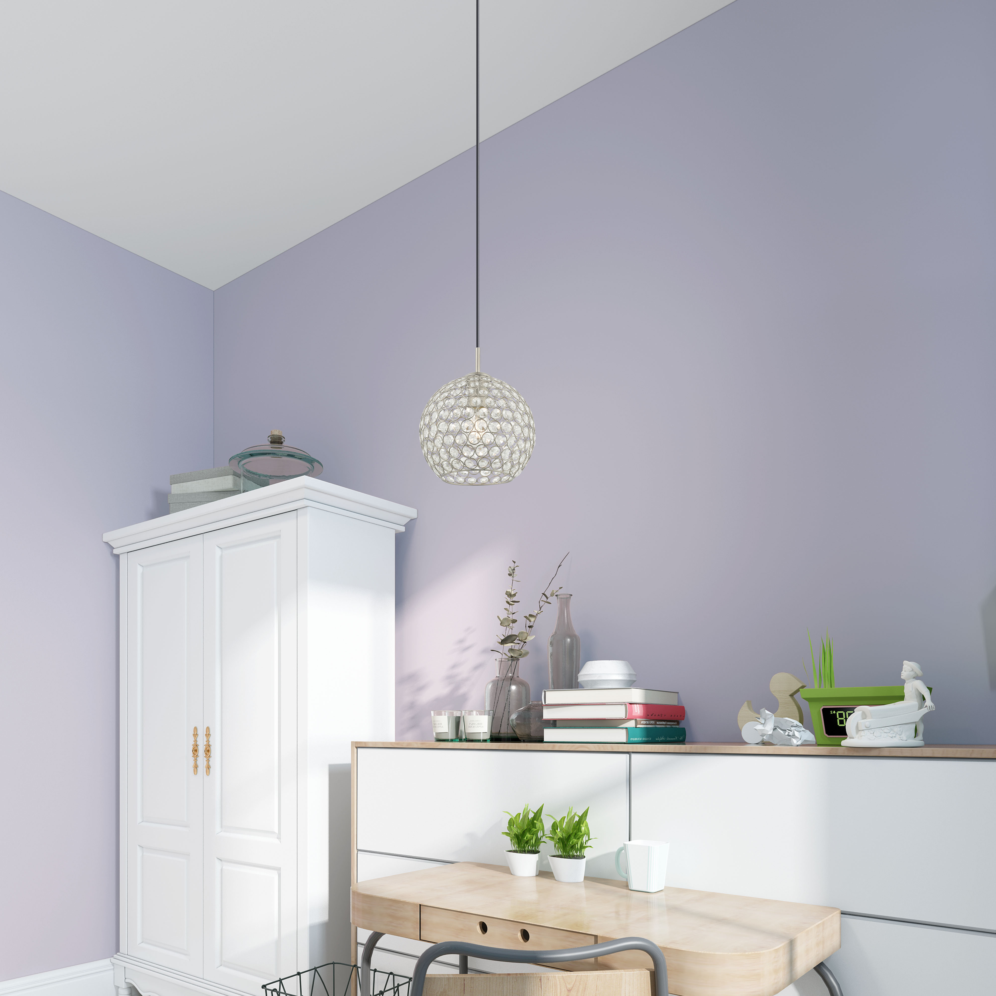 Best And Newest Ludie 1 Light Single Globe Pendant With Regard To Devereaux 1 Light Single Globe Pendants (View 5 of 20)