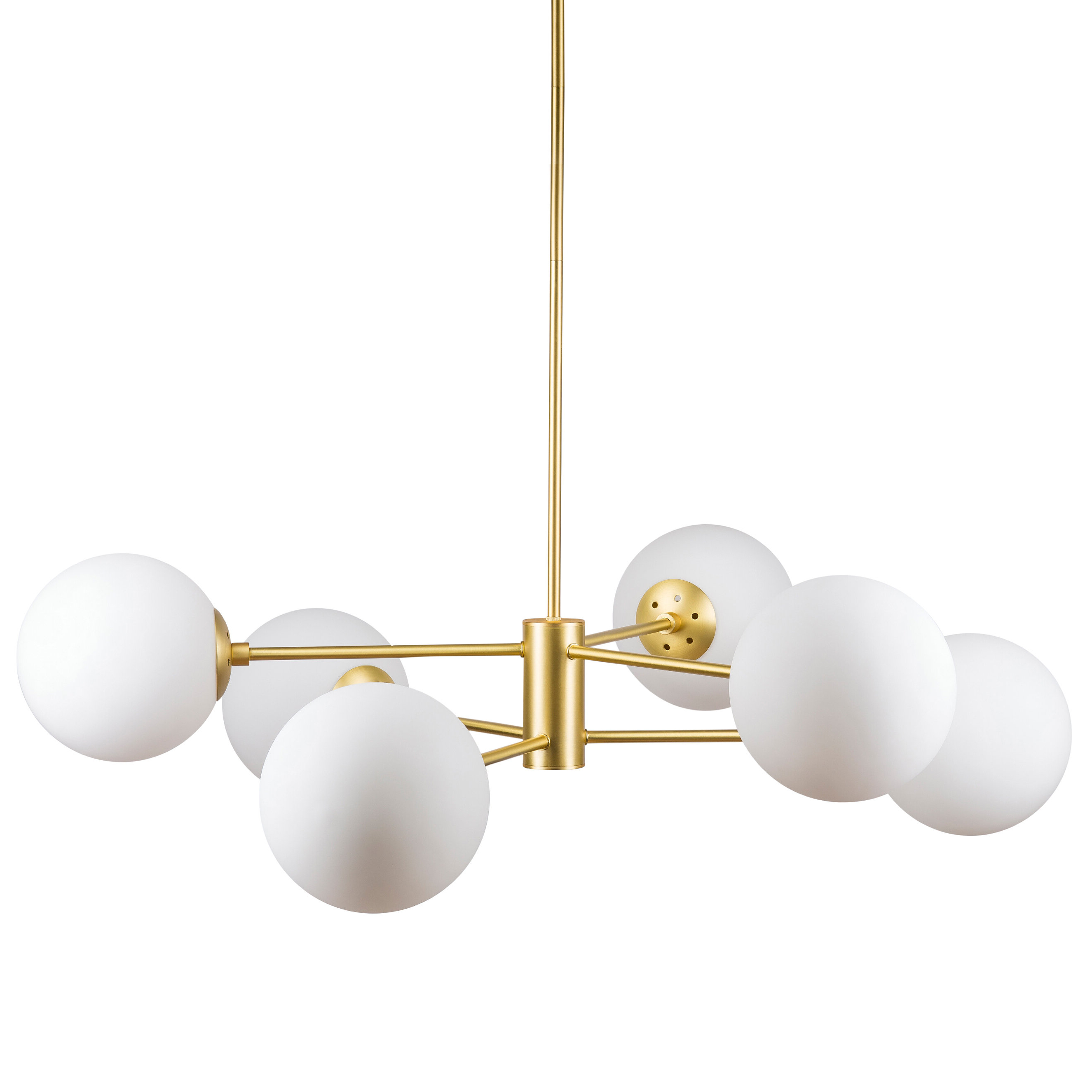 Best And Newest Modern & Contemporary Glass Sphere Chandelier (Gallery 12 of 20)