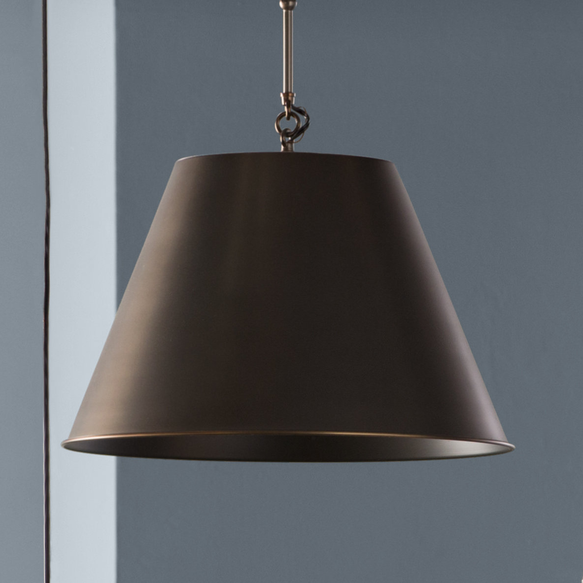 Best And Newest Nadeau 1 Light Single Cone Pendants With Regard To Nadeau 1 Light Single Cone Pendant (Gallery 4 of 20)