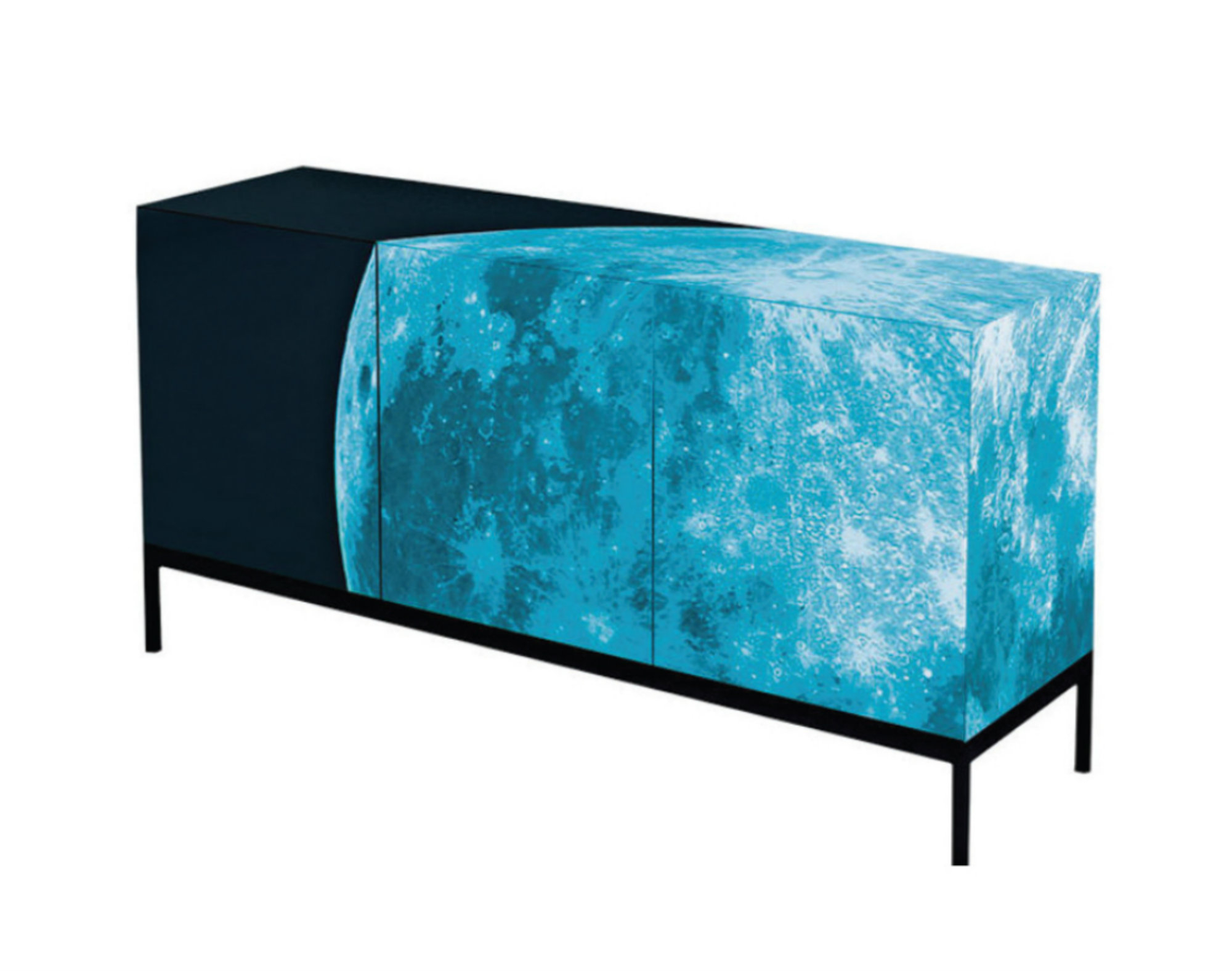 Best And Newest Papadopoulos Sideboards With Regard To Full Moon Limited Edition Sideboard Designedsotirios (View 17 of 20)