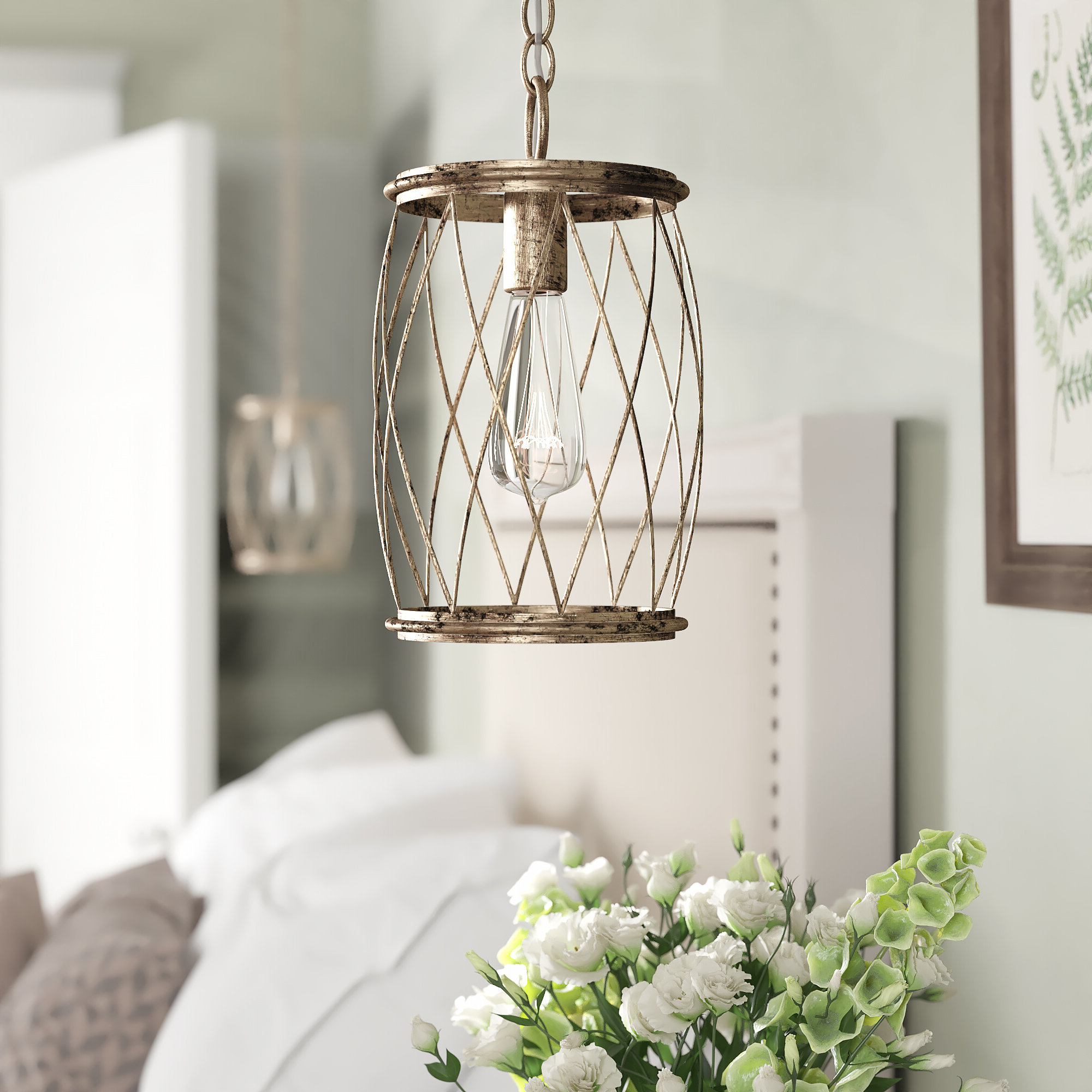 Best And Newest Poynter 1 Light Single Cylinder Pendants Regarding Meryl 1 Light Single Cylinder Pendant (Gallery 7 of 20)