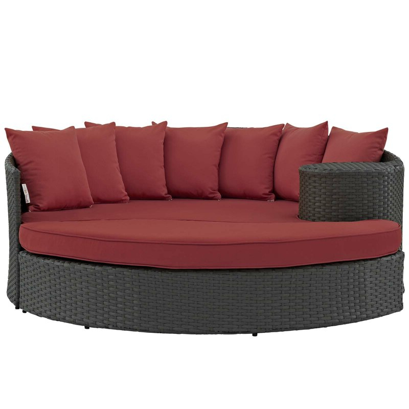 Best And Newest Tripp Patio Daybeds With Cushions For Tripp Patio Daybed With Cushions (Gallery 5 of 20)