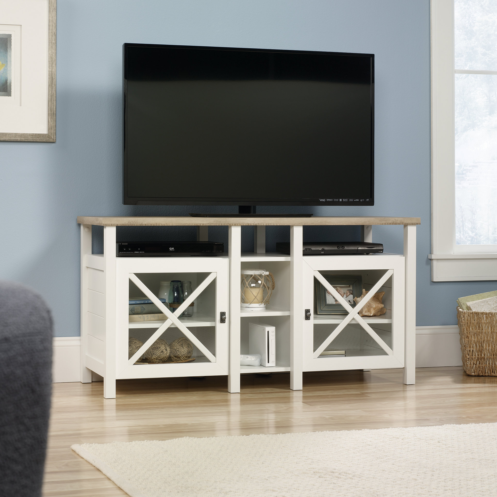 "Birch Lane For Most Popular Colefax Vintage Tv Stands For Tvs Up To 78"" (View 20 of 20)"