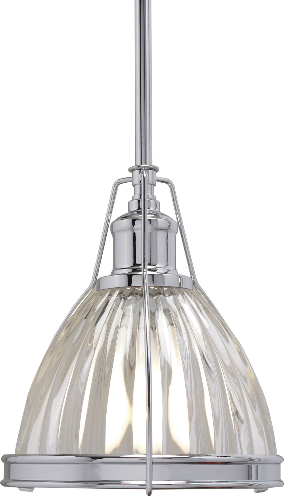 Birch Lane™ Heritage 1 Light Single Bell Pendant With Regard To Current Granville 3 Light Single Dome Pendants (View 5 of 20)