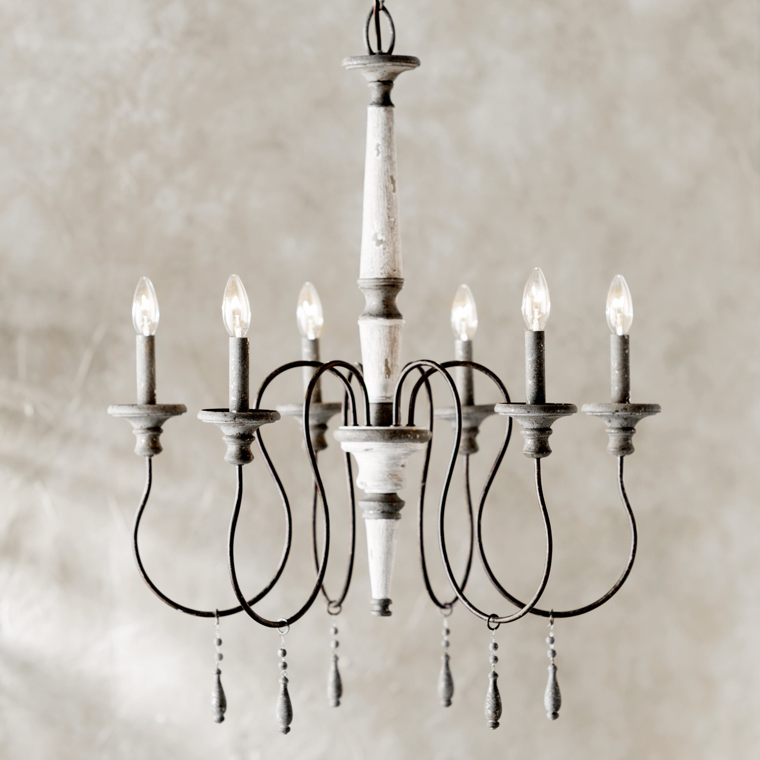 Birch Lane In Bouchette Traditional 6 Light Candle Style Chandeliers (View 4 of 20)