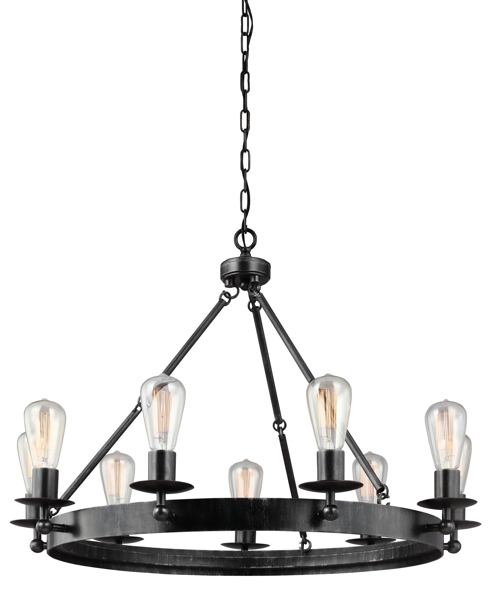Birch Lane Pertaining To Widely Used Alayna 4 Light Shaded Chandeliers (View 8 of 20)
