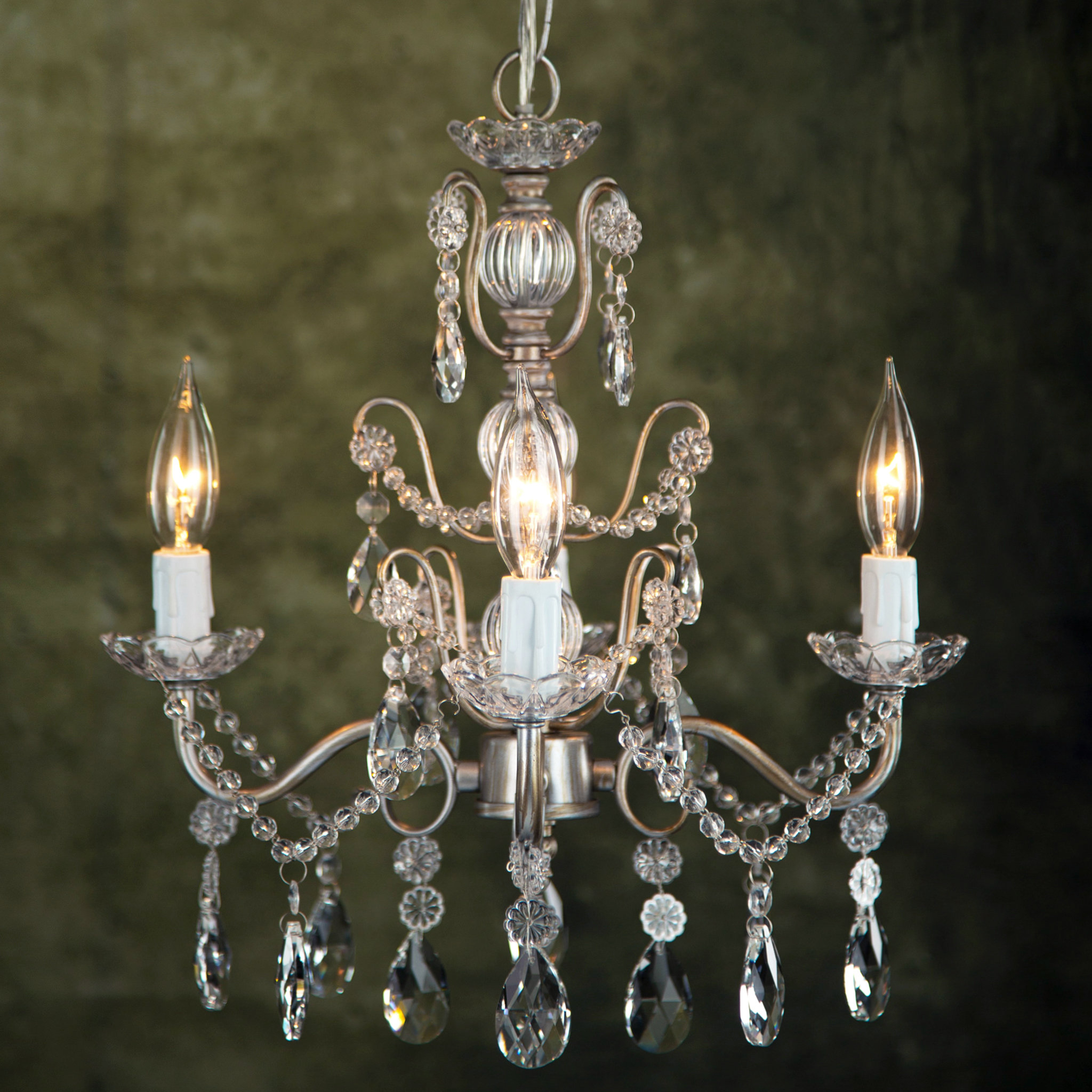 Blanchette 5 Light Candle Style Chandeliers Intended For Latest Blanchette 4 Light Candle Style Chandelier (View 6 of 20)