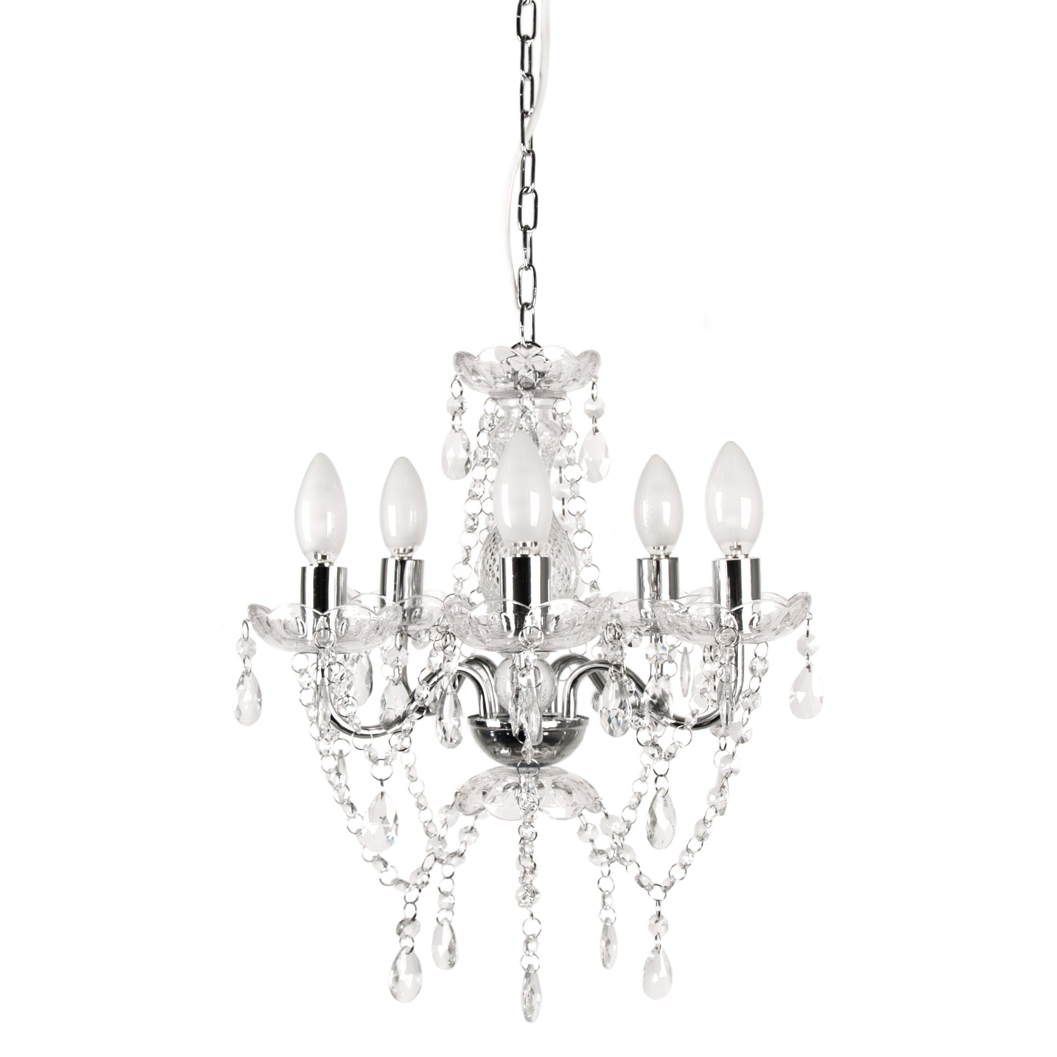 Blanchette 5 Light Candle Style Chandeliers Throughout Favorite 5 Light Candle Style Chandelier (View 8 of 20)