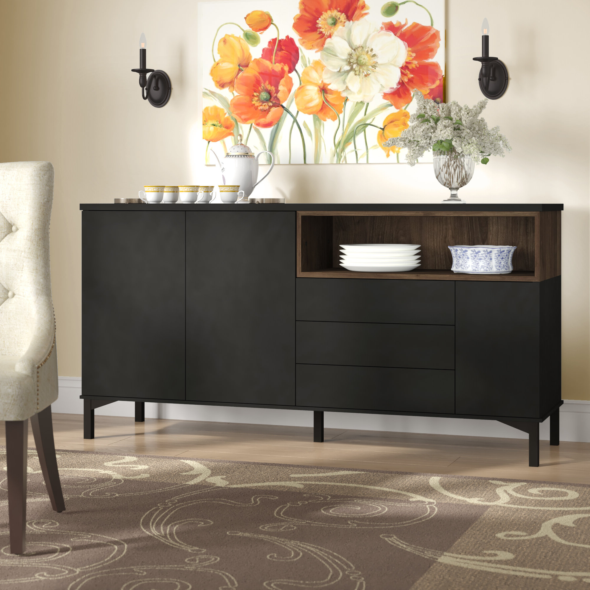 Boggess Sideboard Inside Most Popular Damian Sideboards (Gallery 15 of 20)