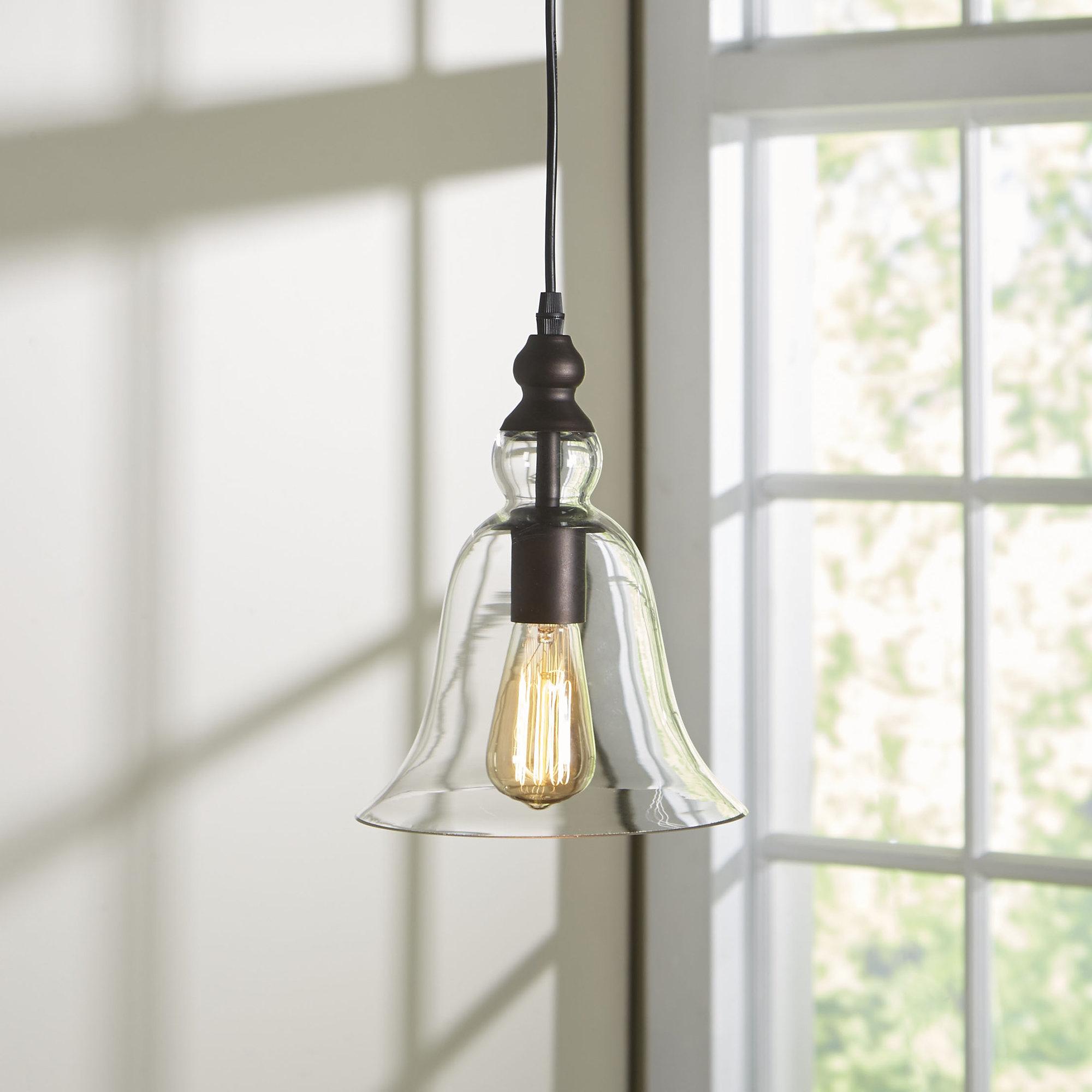 Bouvet 1 Light Bell Pendant Intended For Current Carey 1 Light Single Bell Pendants (View 3 of 20)
