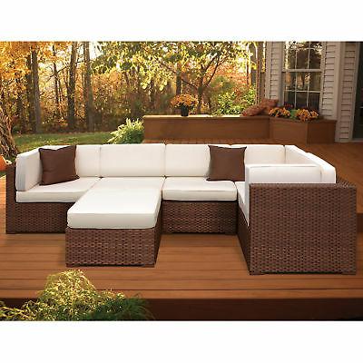 Brayden Studio Lorentzen 6 Piece Sectional Set With Cushions 190689068924 (Gallery 9 of 20)