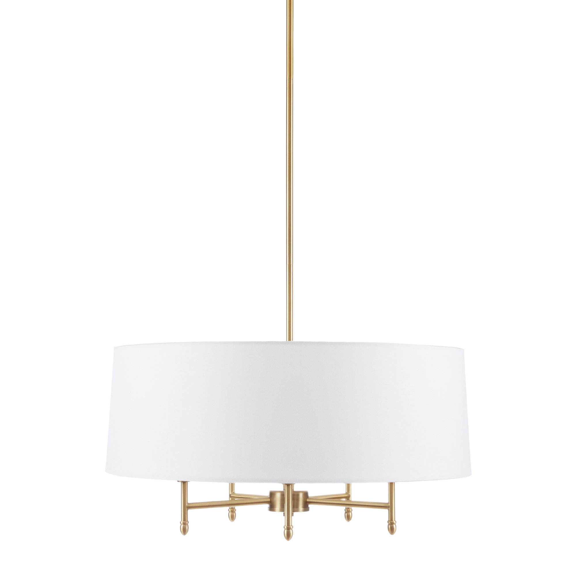 Breithaup 7 Light Drum Chandeliers Pertaining To 2020 Presidio 5 Light Drum Chandelier (View 4 of 20)