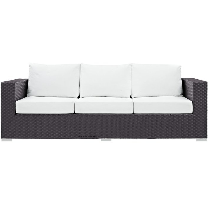 Brentwood Patio Sofas With Cushions For Most Popular Brentwood Patio Sofa With Cushions (View 4 of 20)
