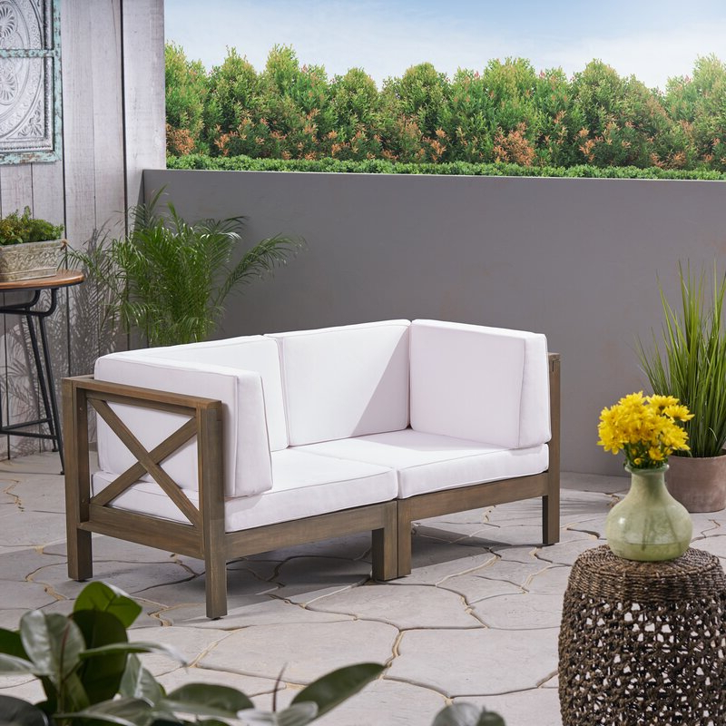Bristol Loveseats With Cushions With Regard To Popular Ellison Loveseat With Cushions (View 7 of 20)