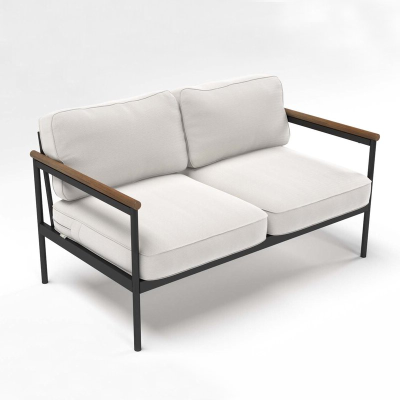 Bryant Loveseats With Cushion Inside Most Popular Outdoor Loveseat With Cushions (View 4 of 20)