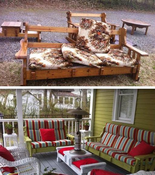 Bullock Outdoor Wooden Loveseats With Cushions With Famous It Came From The '70S: The Story Of Your Grandma's Weird (View 9 of 20)