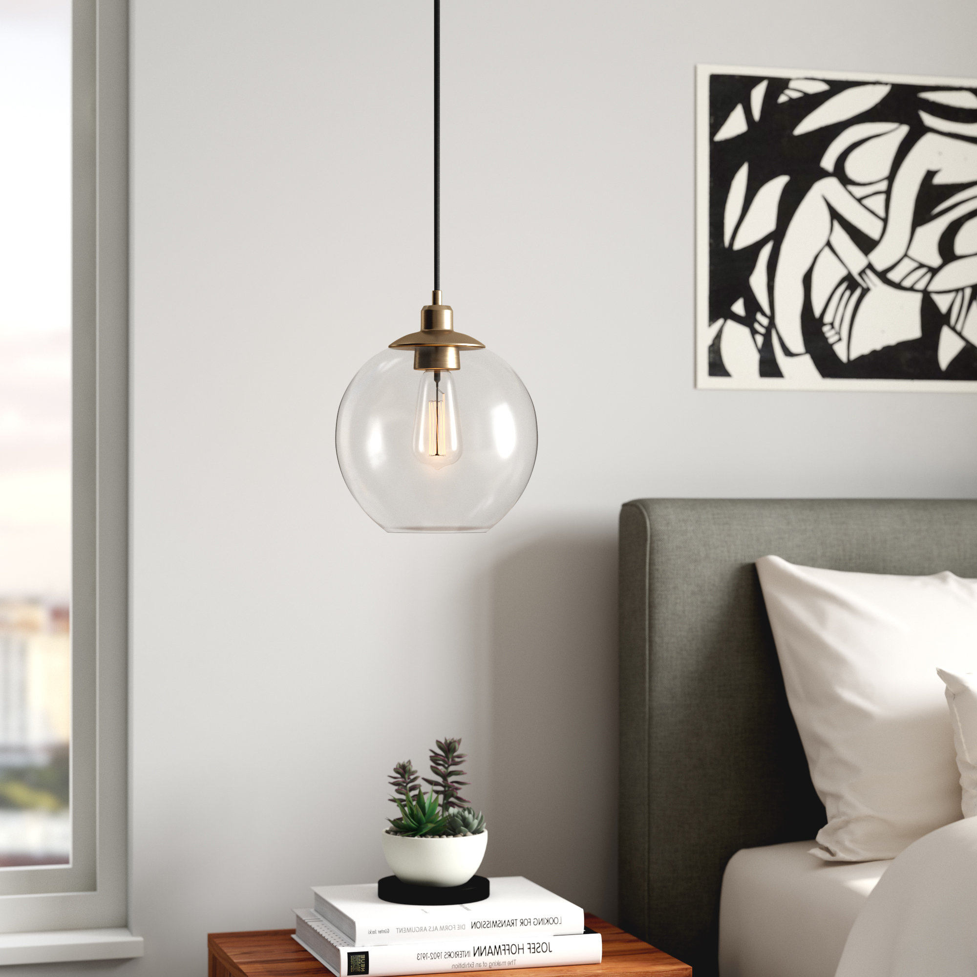 Bundy 1 Light Single Globe Pendants Intended For Well Known Gehry 1 Light Single Globe Pendant (View 3 of 20)