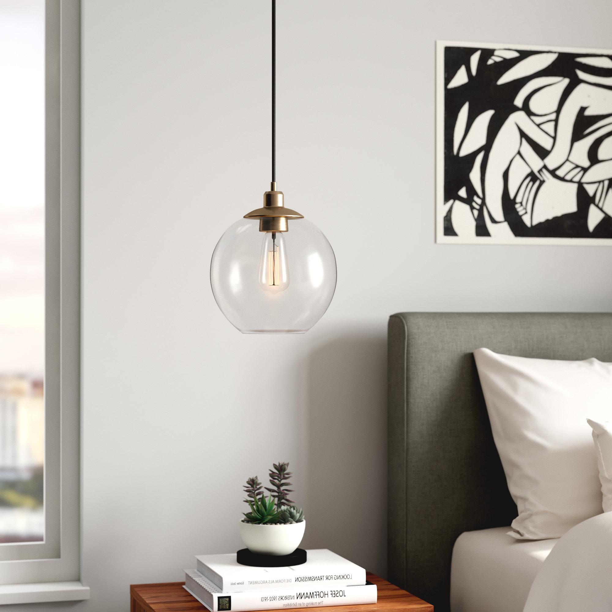 Bundy 1 Light Single Globe Pendants Intended For Well Known Gehry 1 Light Single Globe Pendant (View 9 of 20)