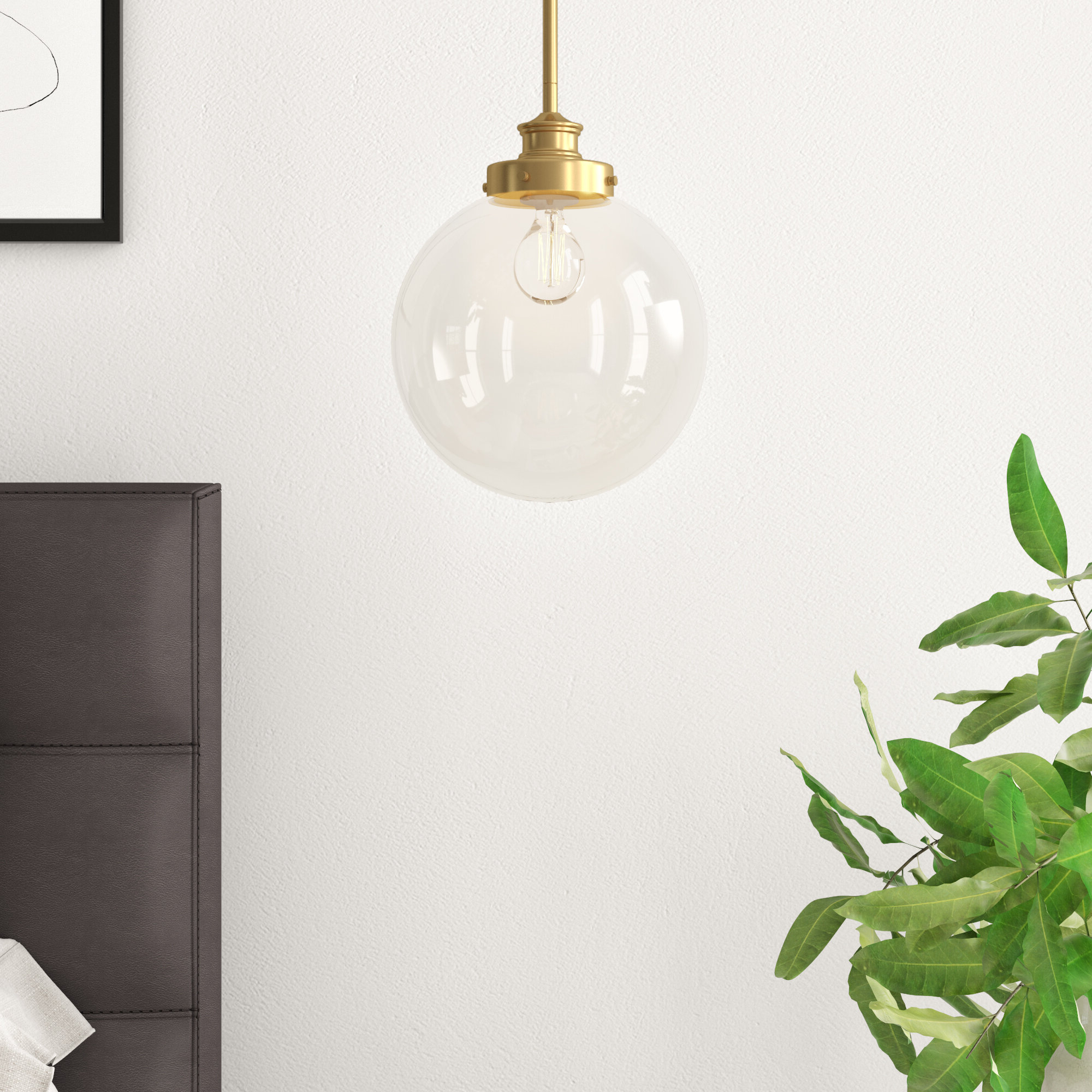 Bundy 1 Light Single Globe Pendants Pertaining To Best And Newest Cayden 1 Light Single Globe Pendant (View 4 of 20)