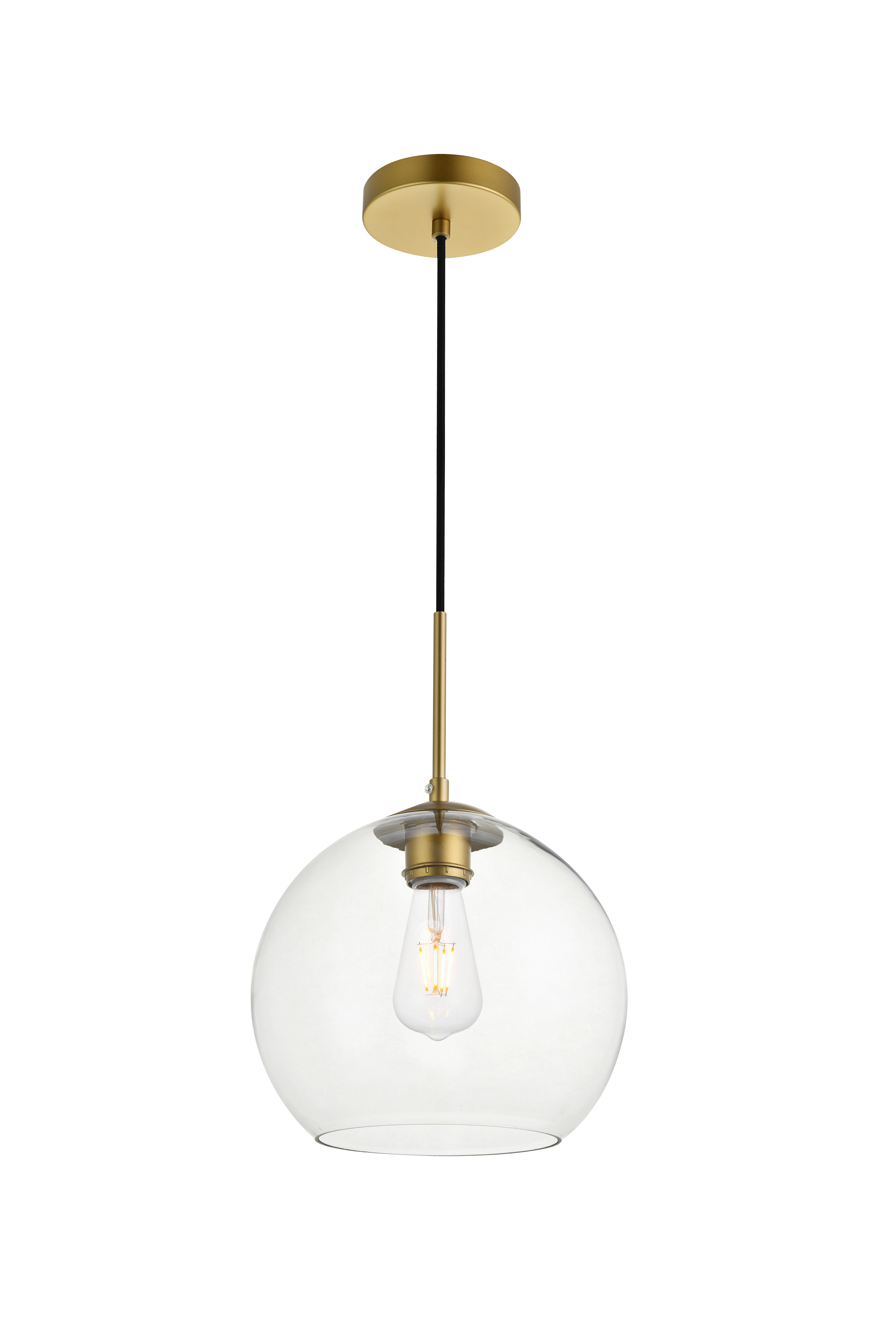 Bundy 1 Light Single Globe Pendants Within Most Current Yearwood 1 Light Single Globe Pendant (View 11 of 20)