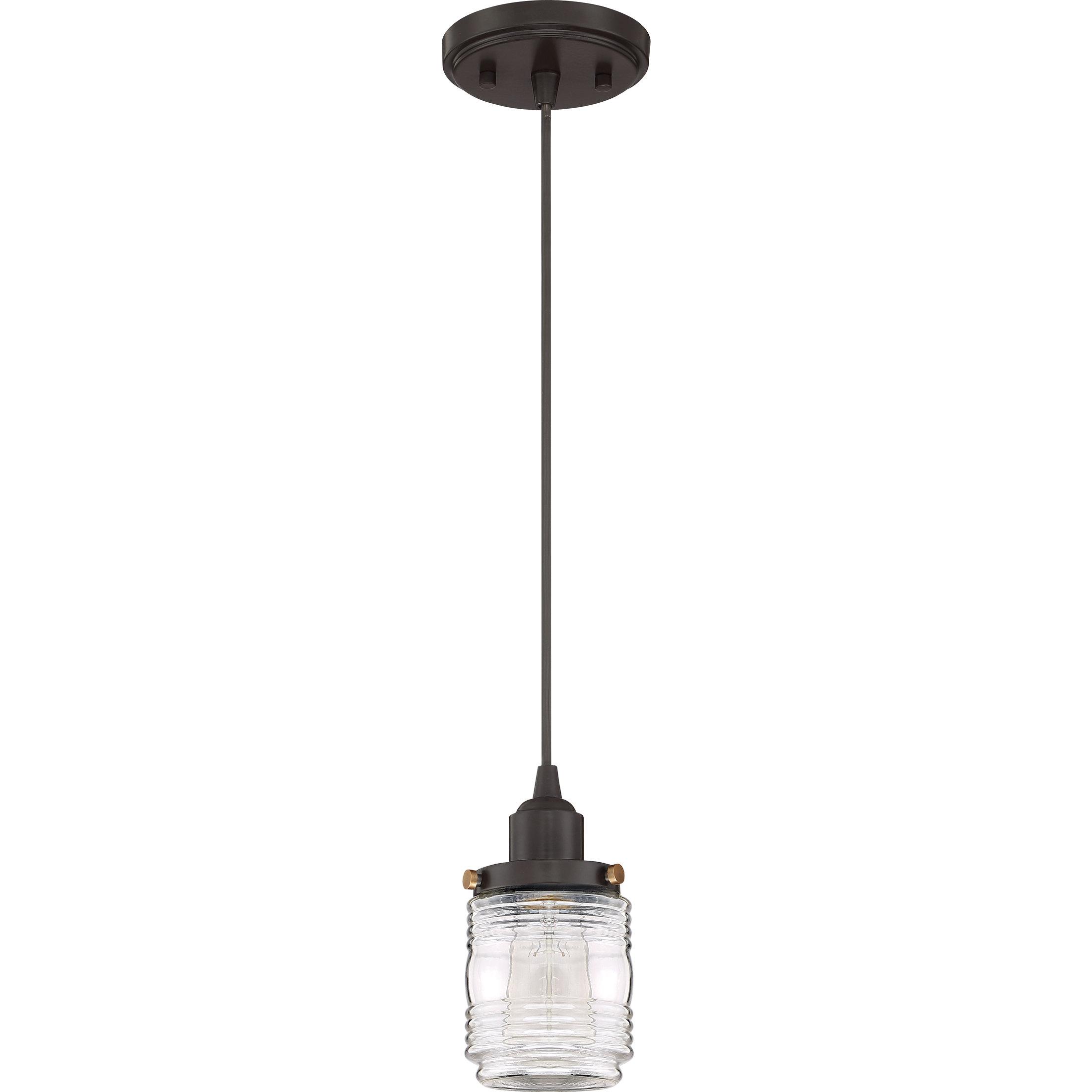 Burgess 1 Light Single Jar Pendant In Famous Sue 1 Light Single Jar Pendants (Gallery 3 of 20)