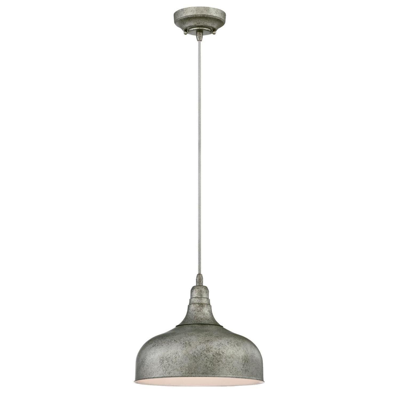 Burwan 1 Light Single Dome Pendant Regarding Favorite Scruggs 1 Light Geometric Pendants (Gallery 12 of 20)