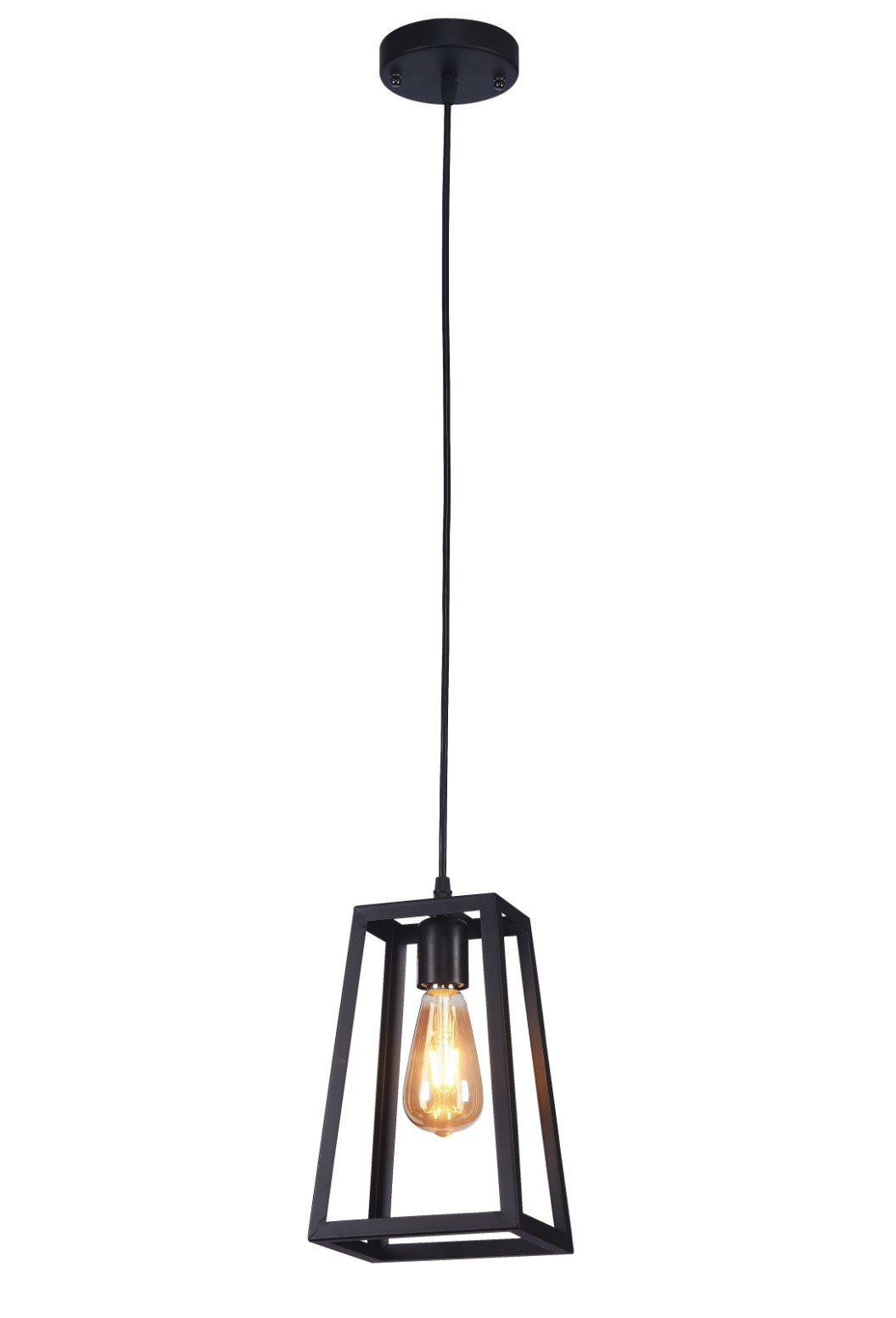 Cabott 1 Light Square/rectangle Pendant With Most Recent Nolan 1 Light Lantern Chandeliers (View 4 of 20)