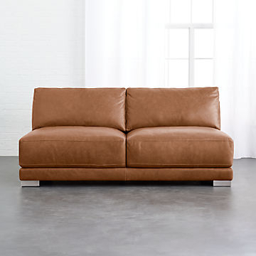 Calila Teak Loveseats With Cushion Throughout Well Liked Cb2 Clearance: Home Accents And Furniture (Gallery 17 of 20)