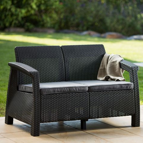 Calvin Patio Loveseats With Cushions Throughout Preferred Pinterest – Пинтерест (View 7 of 20)