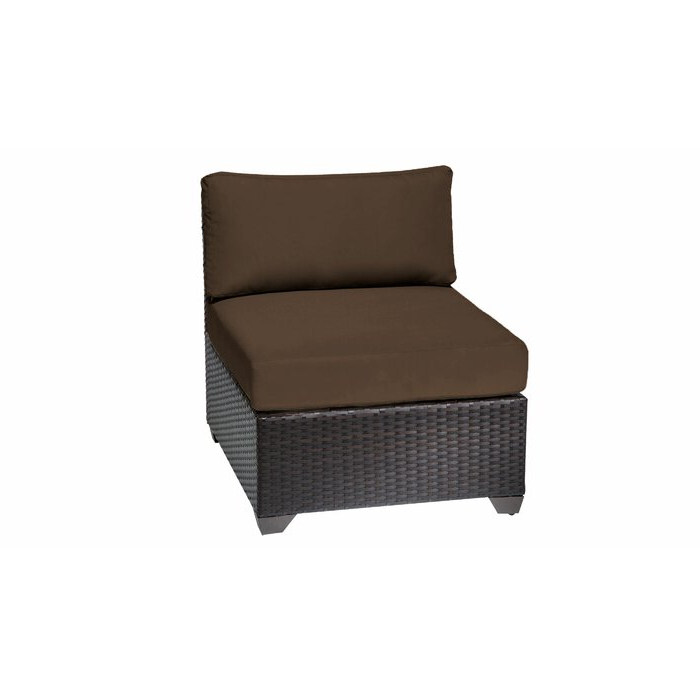 Camak Patio Loveseats With Cushions In Recent Rayna Patio Chair With Cushions (View 3 of 20)