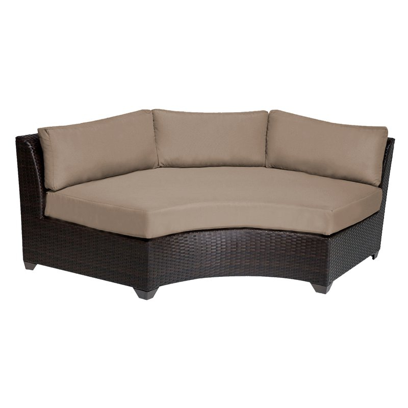 Camak Patio Loveseats With Cushions Intended For Widely Used Camak Patio Sofa With Cushions (View 6 of 20)