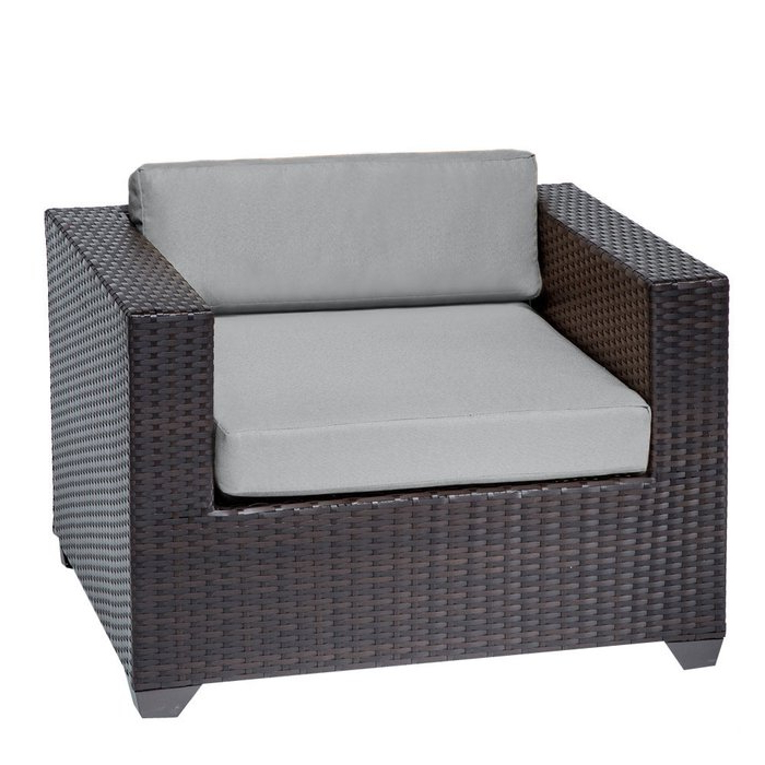 Camak Patio Loveseats With Cushions With Regard To 2020 Camak Patio Chair With Cushions (View 7 of 20)