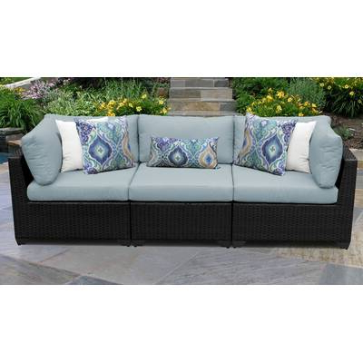 Camak Patio Sofas With Cushions Intended For Most Popular Camak 12 Piece Sectional Seating Group With Cushions (View 9 of 20)