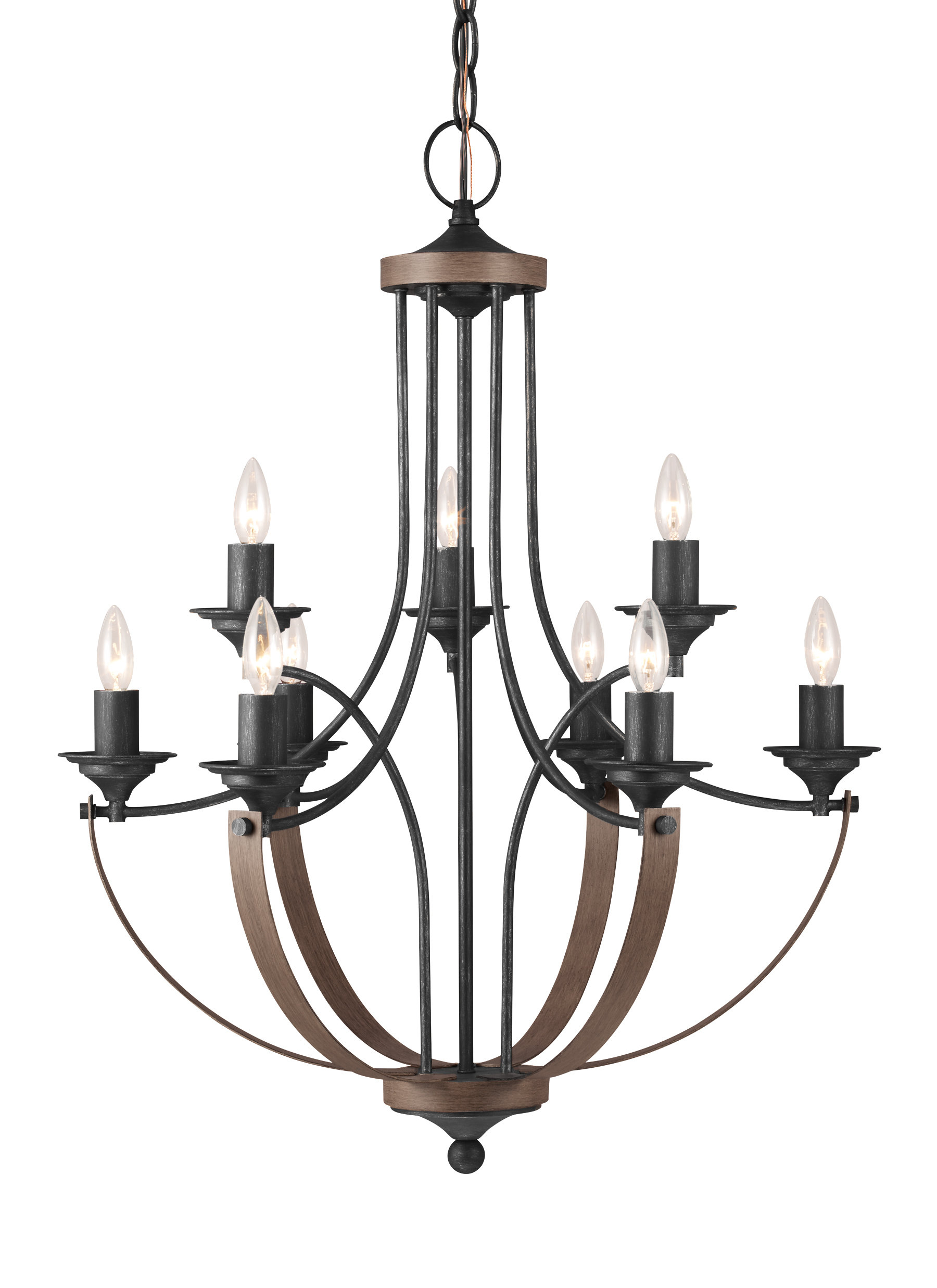 Camilla 9 Light Candle Style Chandelier With Regard To Newest Giverny 9 Light Candle Style Chandeliers (View 2 of 20)