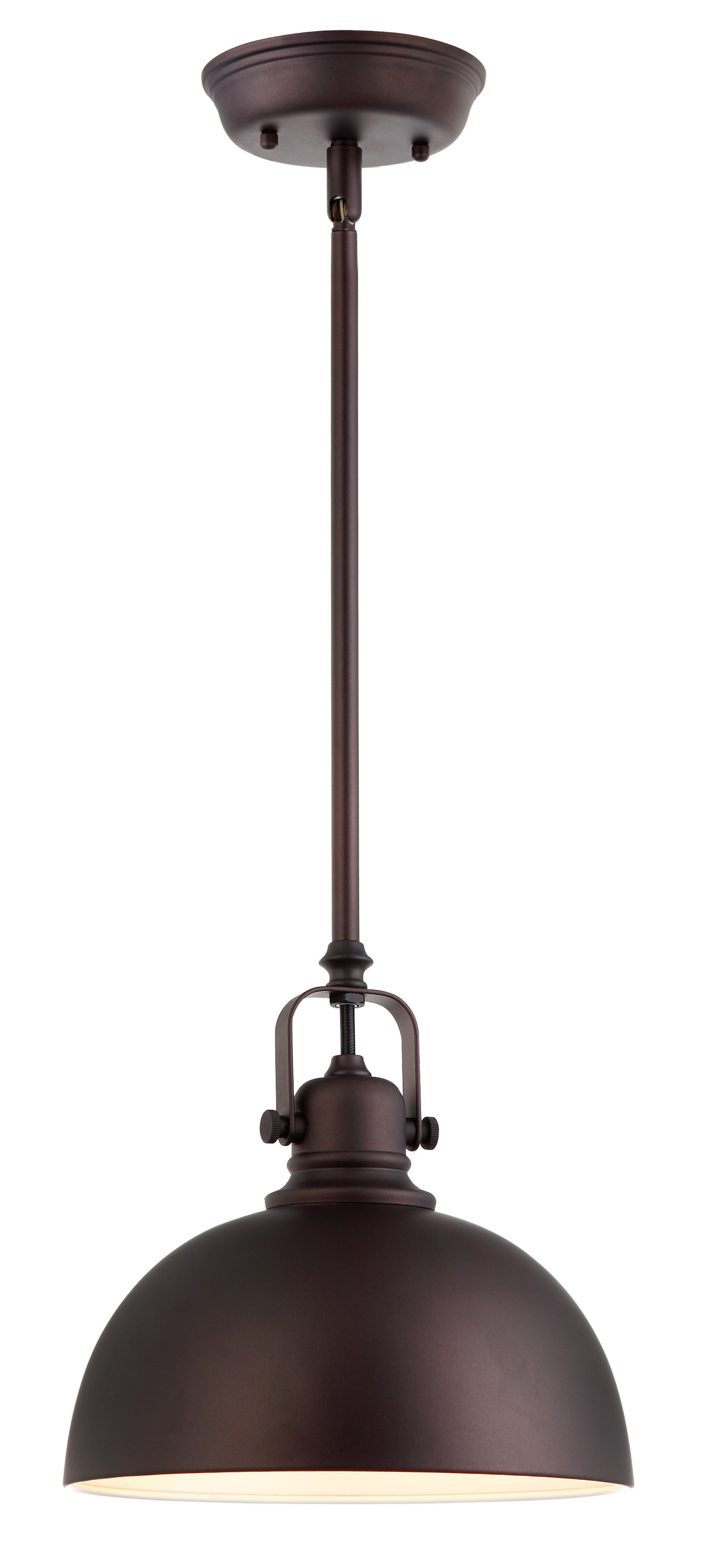 Canarm Ipl222B01Orb Polo 1 Light Mini Pendant With Oil Within Well Known Monadnock 1 Light Single Dome Pendants (Gallery 18 of 20)