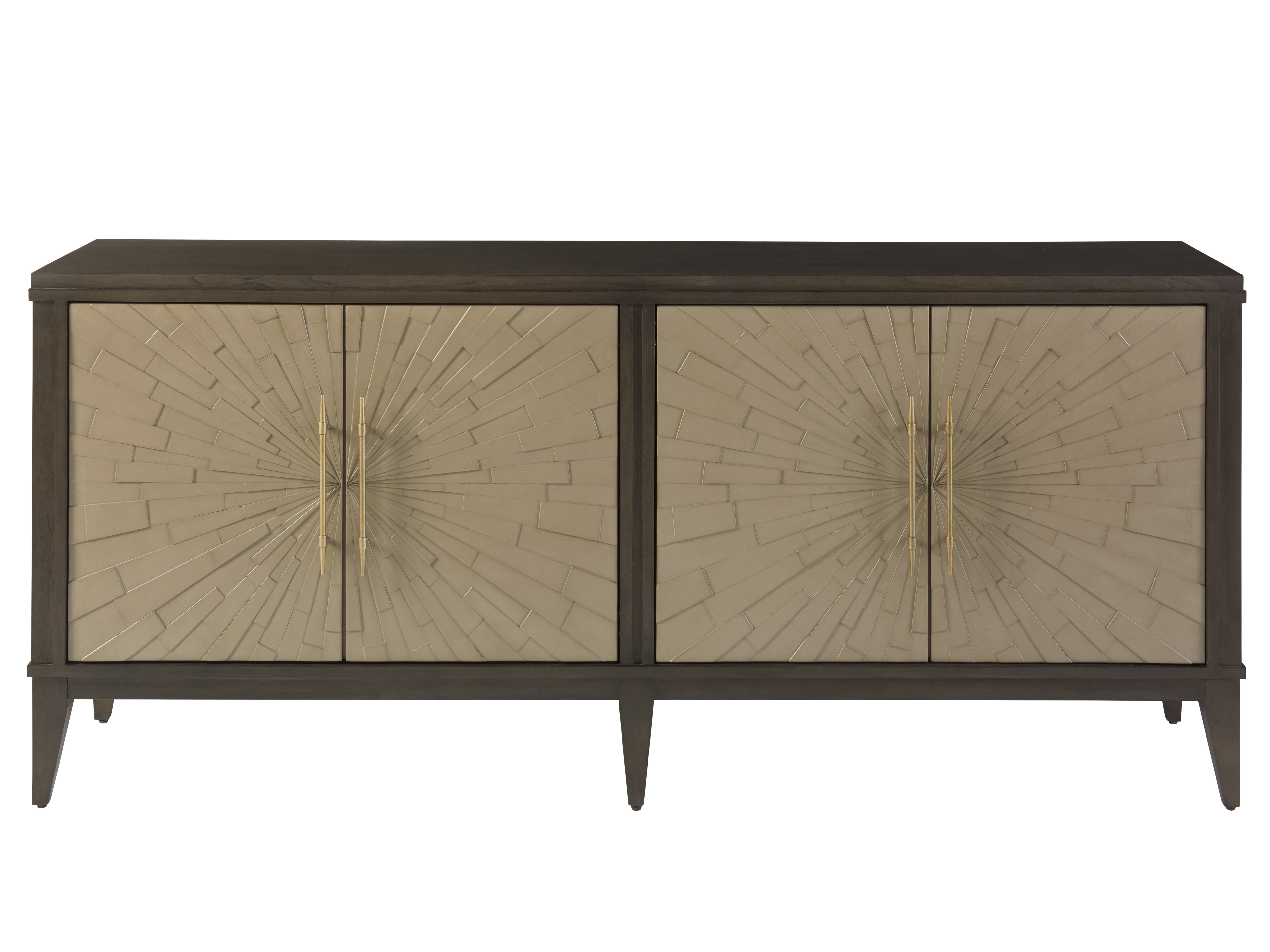 Candace Door Credenzas Intended For Preferred Everly Quinn Hohman Credenza (View 7 of 20)