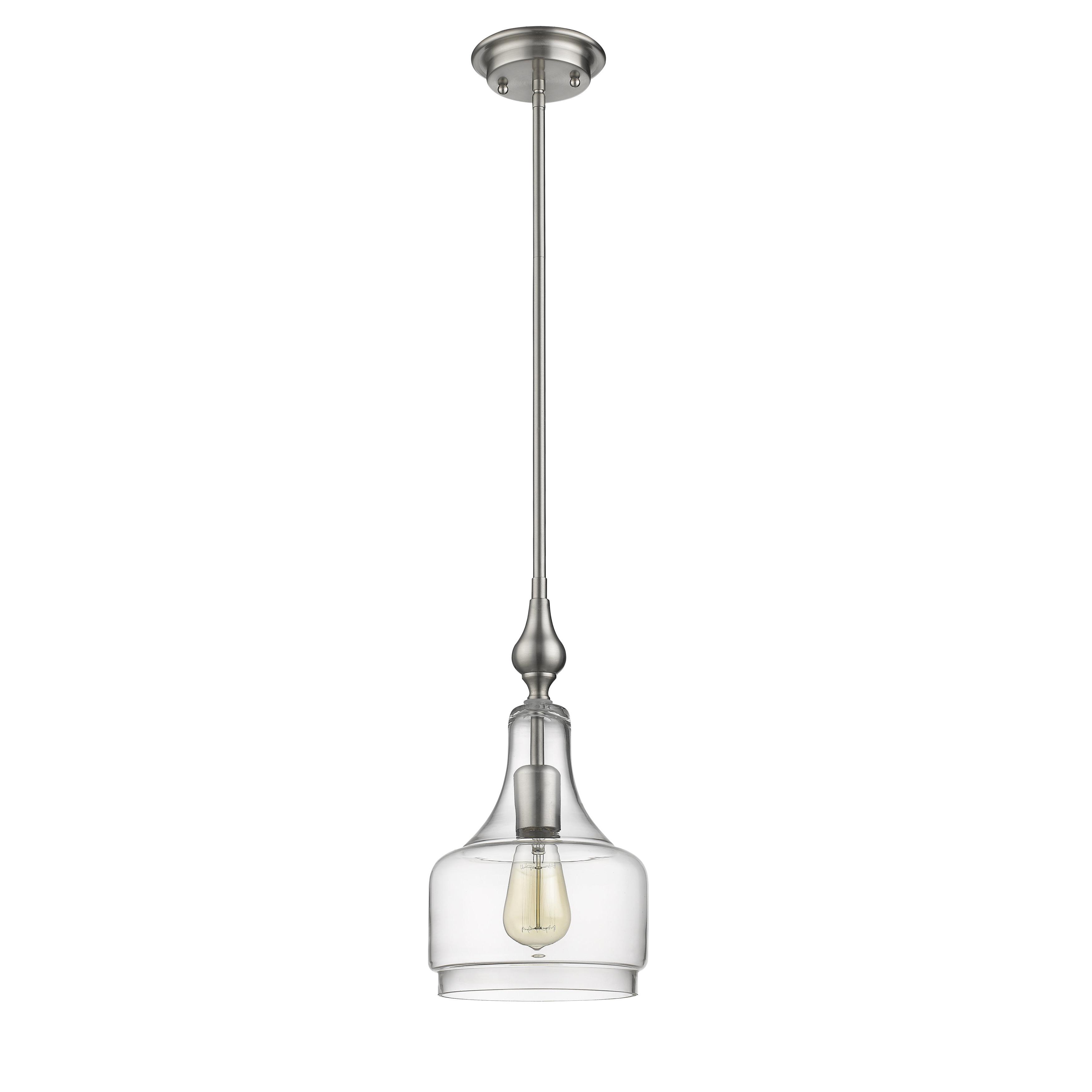 Carey 1 Light Single Bell Pendants Inside 2019 Dunson 1 Light Single Bell Pendant (View 4 of 20)