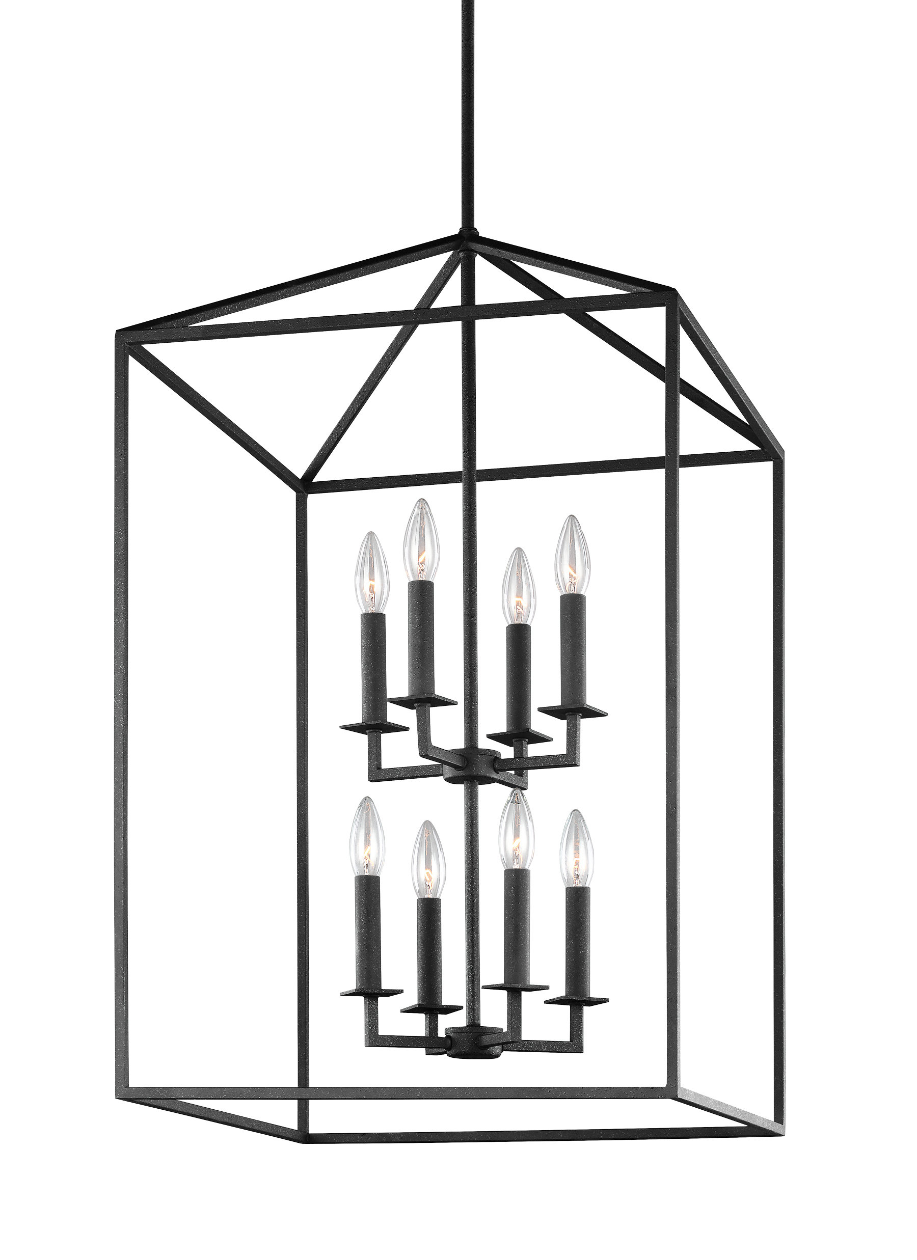 Carmen 8 Light Lantern Tiered Pendants Intended For Most Up To Date Odie 8 Light Lantern Tiered Pendant (Gallery 8 of 20)