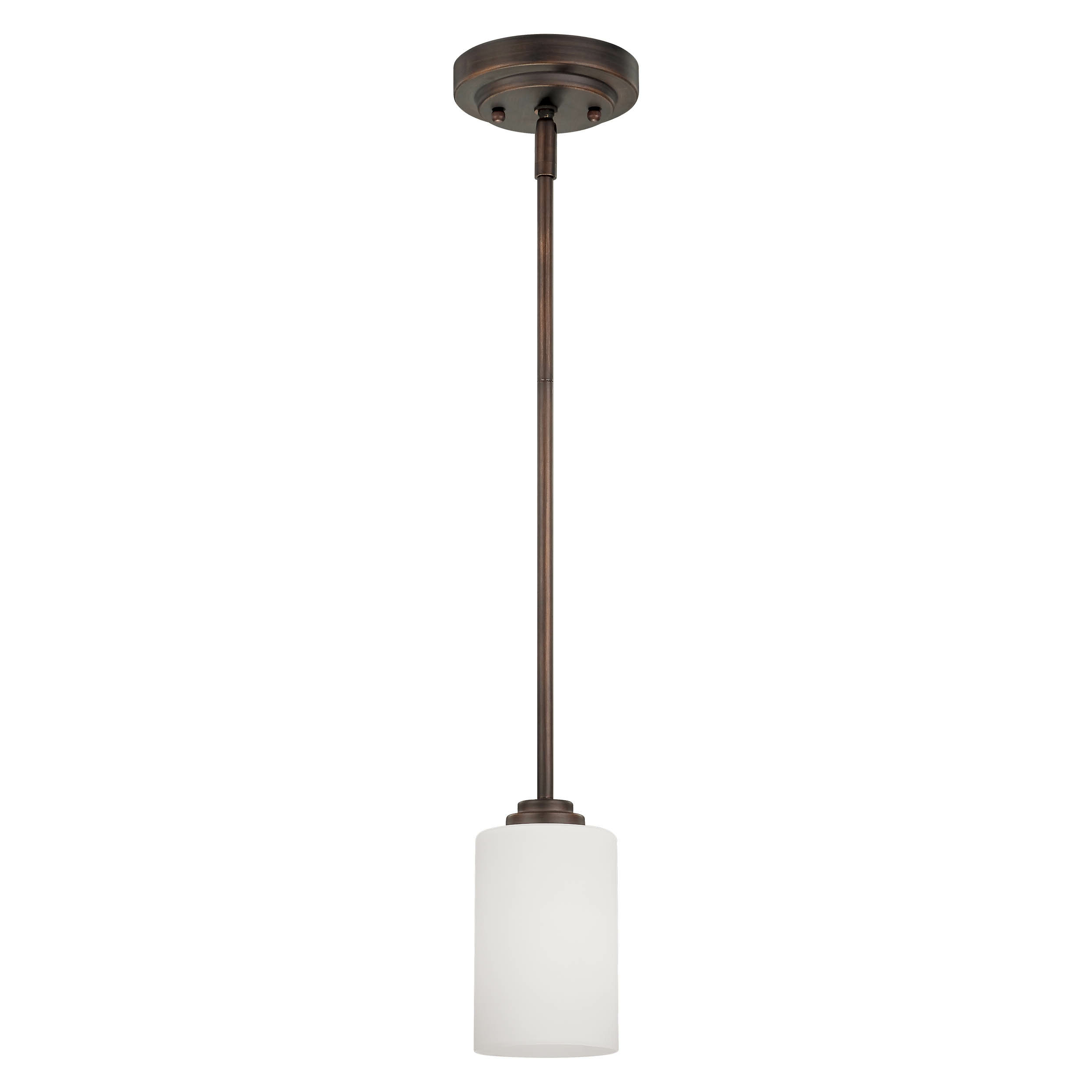 Castano 1 Light Single Cylinder Pendant Inside Most Current Erico 1 Light Single Bell Pendants (View 16 of 20)