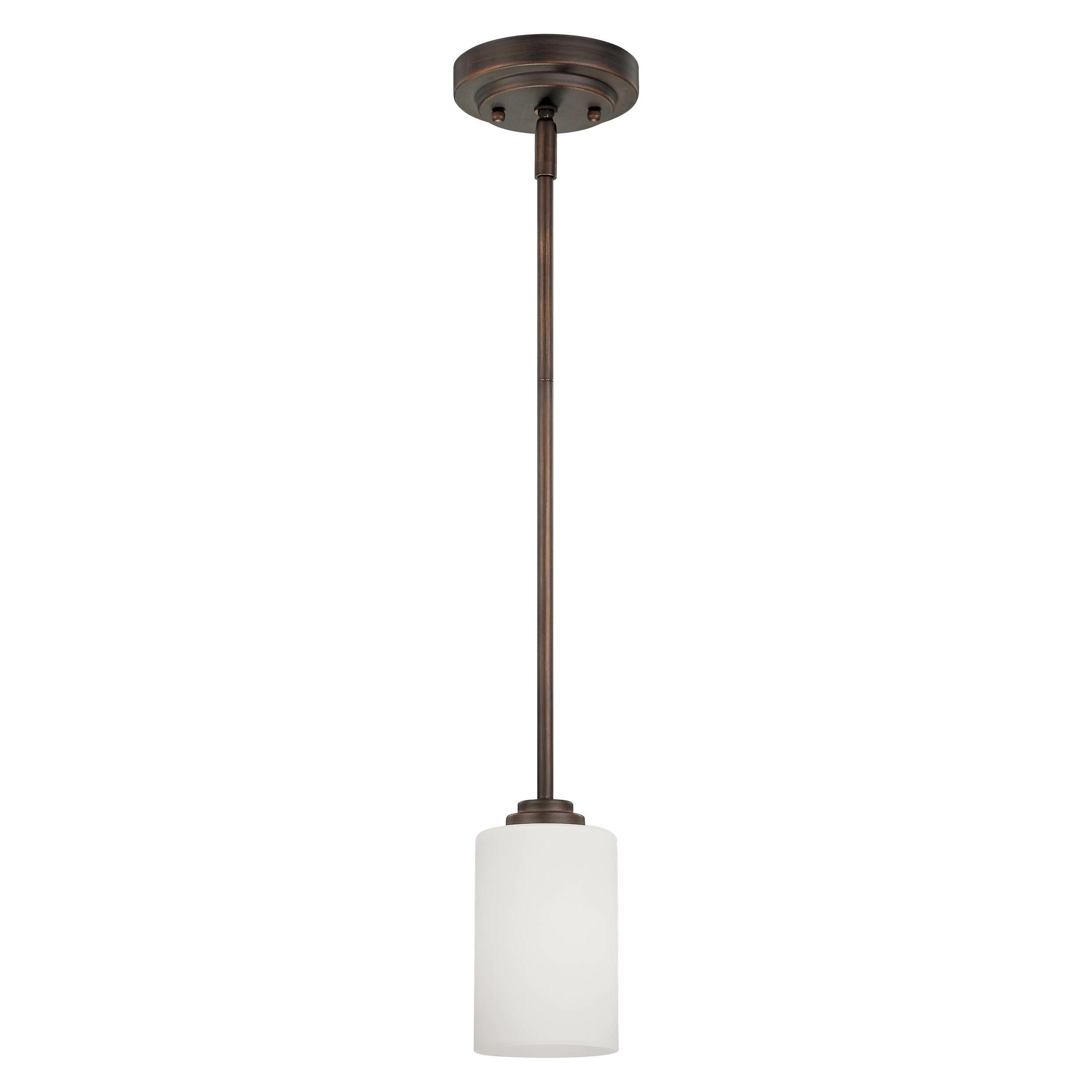 Castano 1 Light Single Cylinder Pendant Inside Most Current Erico 1 Light Single Bell Pendants (View 2 of 20)