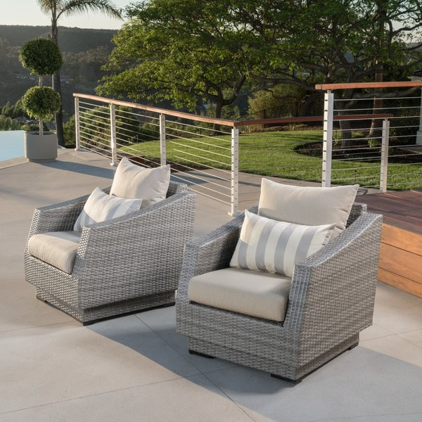 Castelli Patio Chair With Sunbrella Cushions In Most Up To Date Castelli Patio Sofas With Sunbrella Cushions (Gallery 5 of 20)