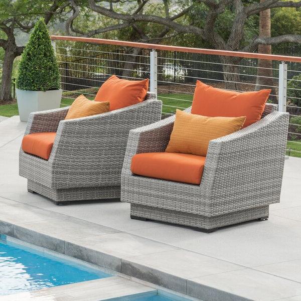 Castelli Patio Chair With Sunbrella Cushions With Most Up To Date Castelli Patio Sofas With Sunbrella Cushions (View 6 of 20)
