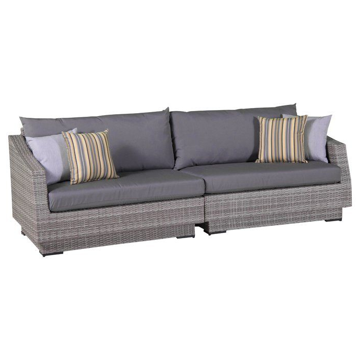 Castelli Patio Sofas With Sunbrella Cushions With Preferred Castelli Patio Sofa With Sunbrella Cushions In  (View 11 of 20)